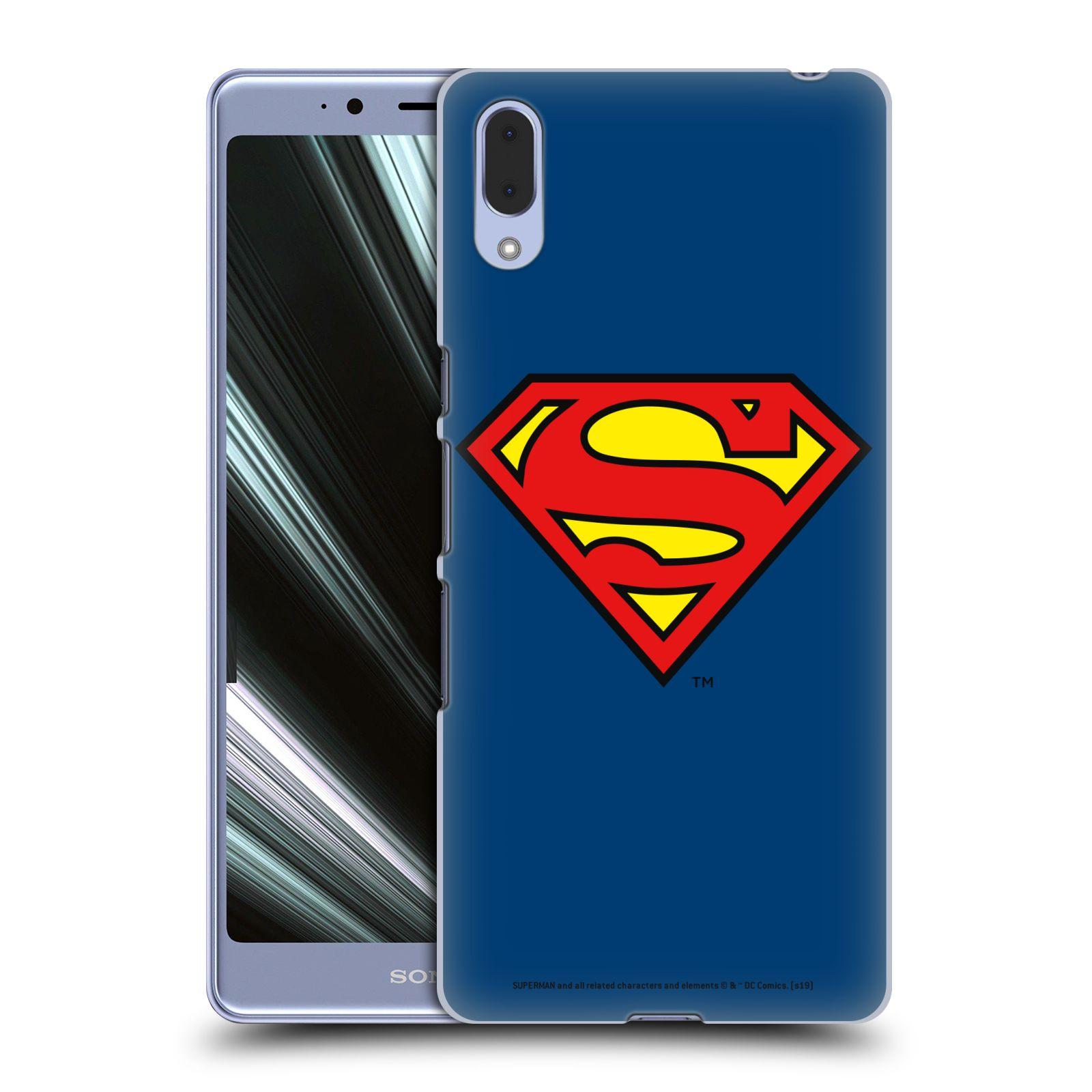 Pouzdro na mobil Sony Xperia L3 - HEAD CASE - DC komix Superman