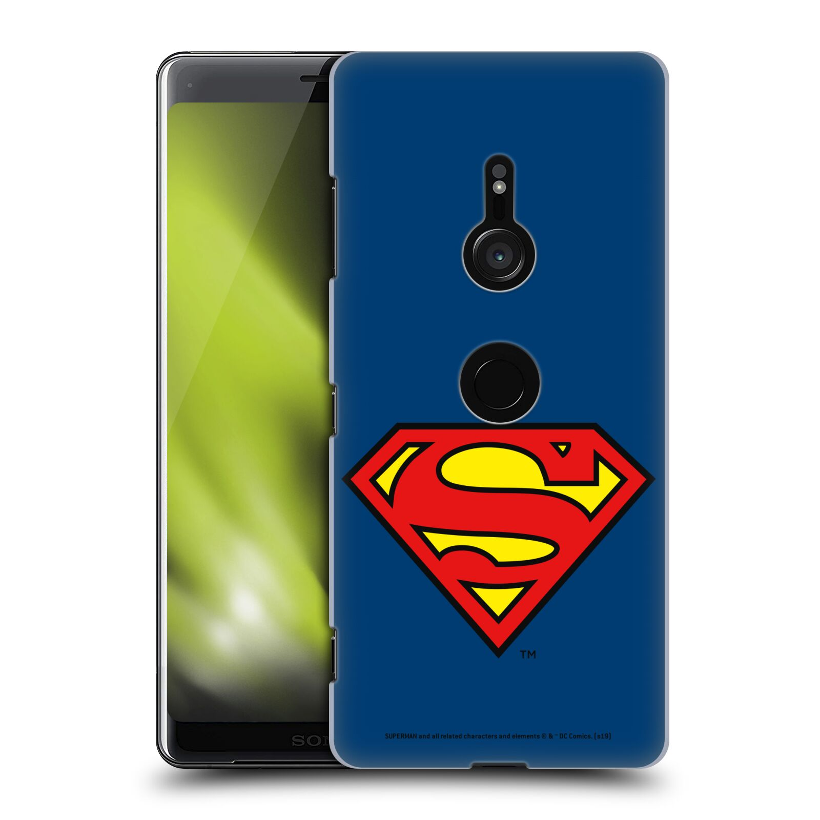 Pouzdro na mobil Sony Xperia XZ3 - HEAD CASE - DC komix Superman