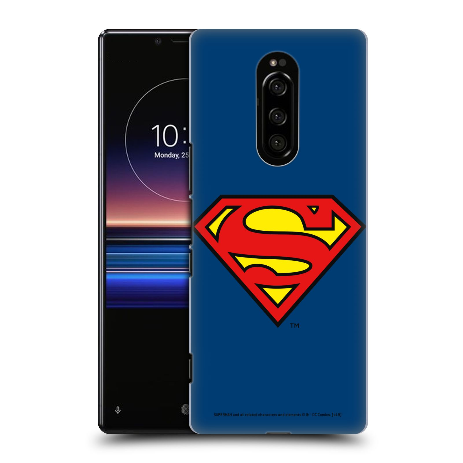 Pouzdro na mobil Sony Xperia 1 - HEAD CASE - DC komix Superman