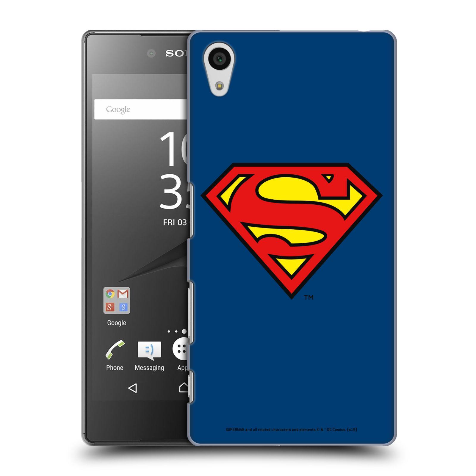 Pouzdro na mobil Sony Xperia Z5 - HEAD CASE - DC komix Superman