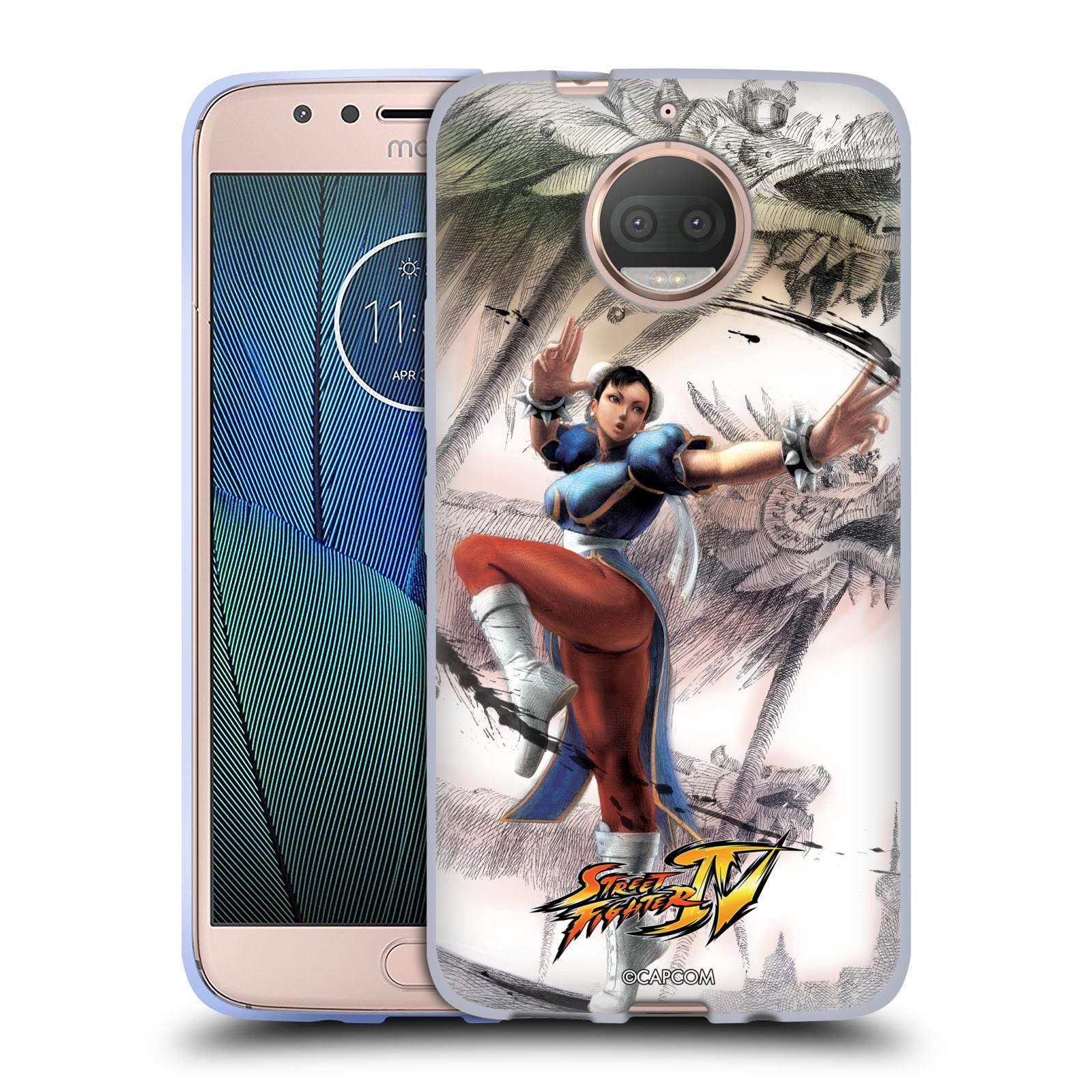 HEAD CASE silikonový obal na mobil Lenovo Moto G5s PLUS oficiální kryt STREET FIGHTER bojovnice Chun-Li kresba
