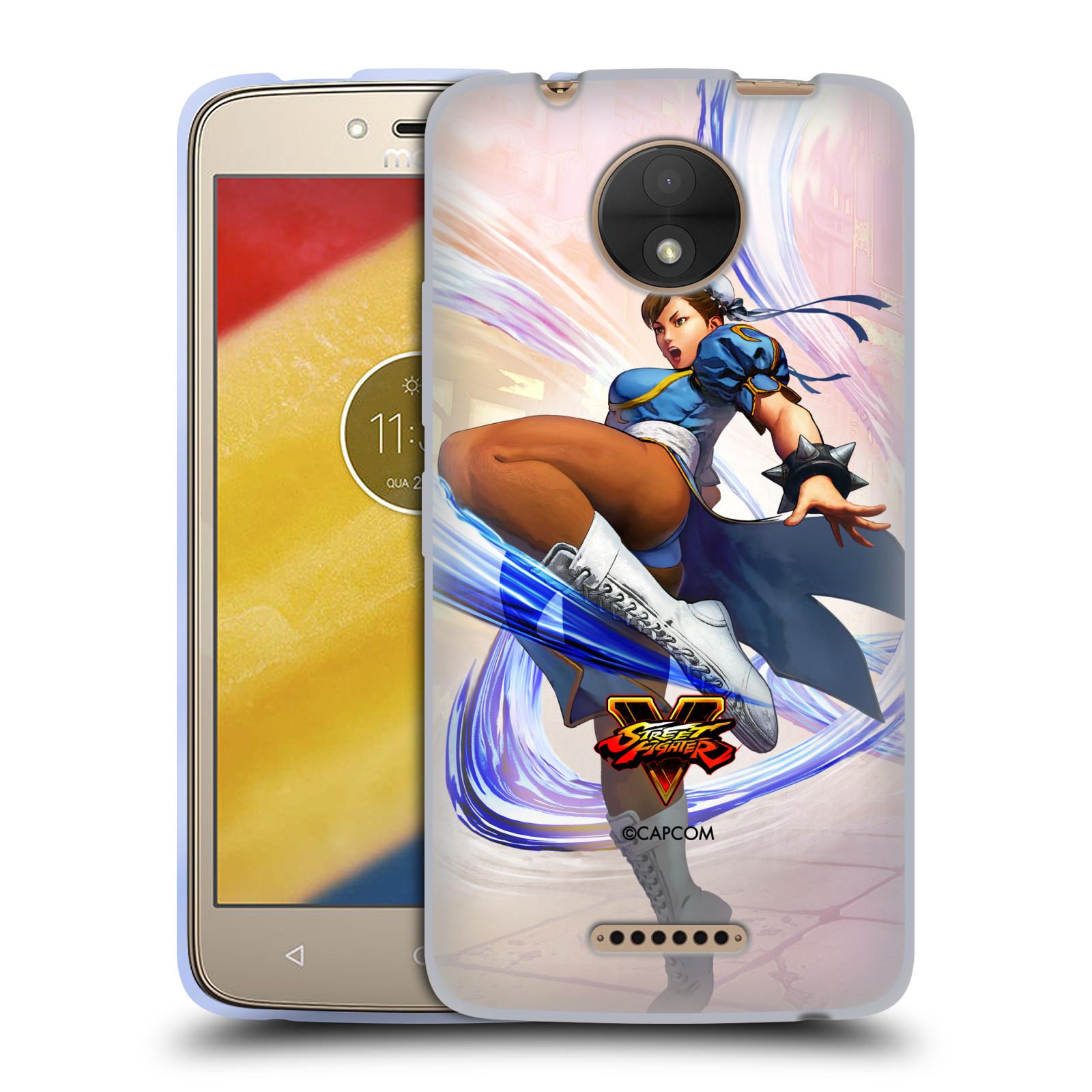 HEAD CASE silikonový obal na mobil Lenovo Moto C oficiální kryt STREET FIGHTER bojovnice Chun-Li