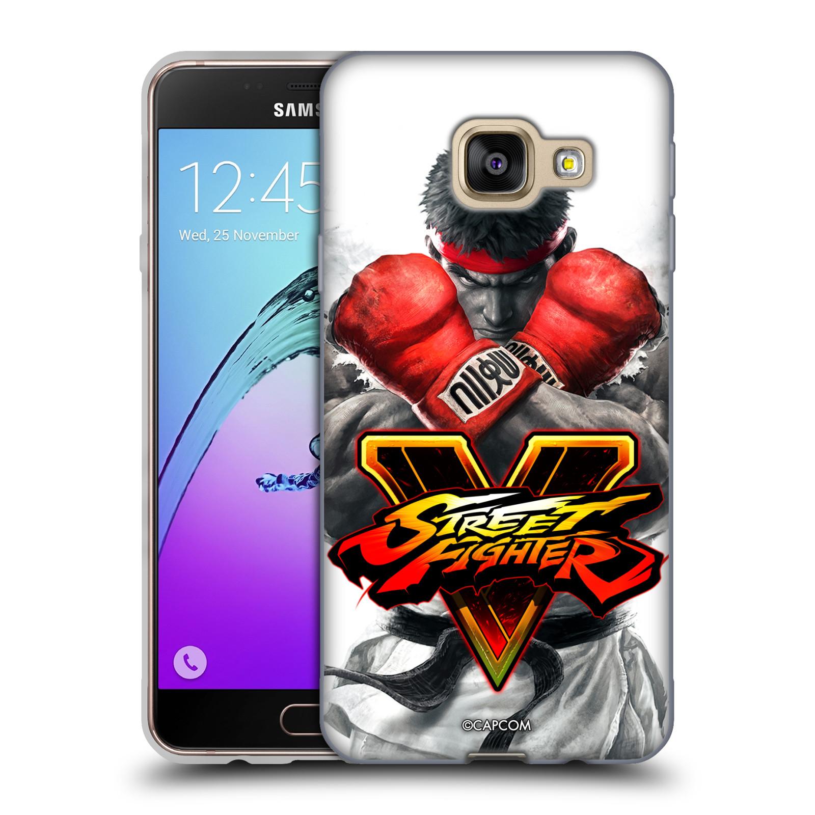 HEAD CASE silikonový obal na mobil Samsung Galaxy A3 2016 (A310) oficiální kryt STREET FIGHTER Boxer Ryu