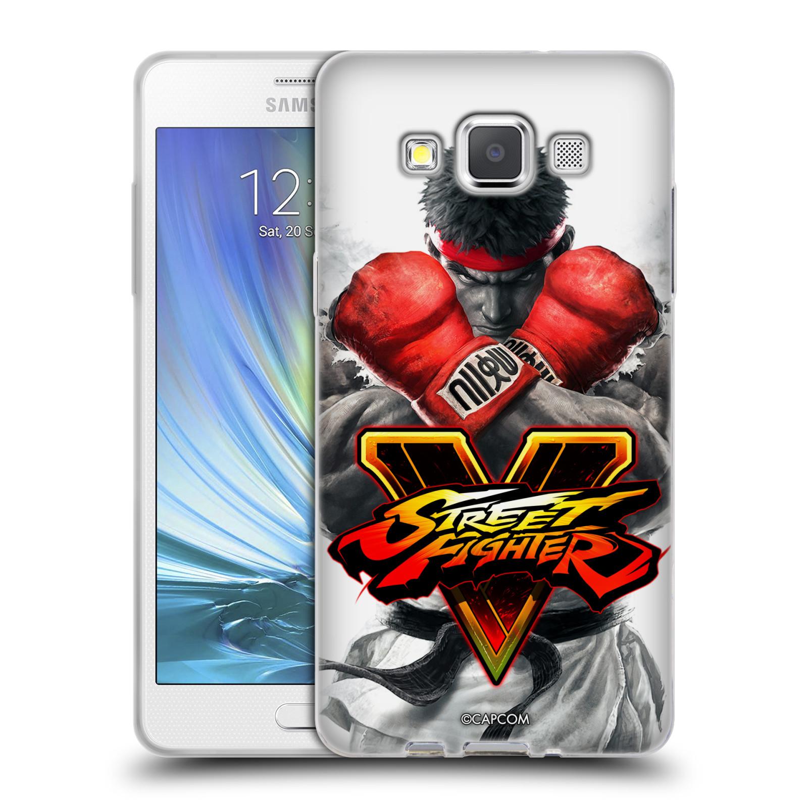 HEAD CASE silikonový obal na mobil Samsung Galaxy A5 (A500) oficiální kryt STREET FIGHTER Boxer Ryu