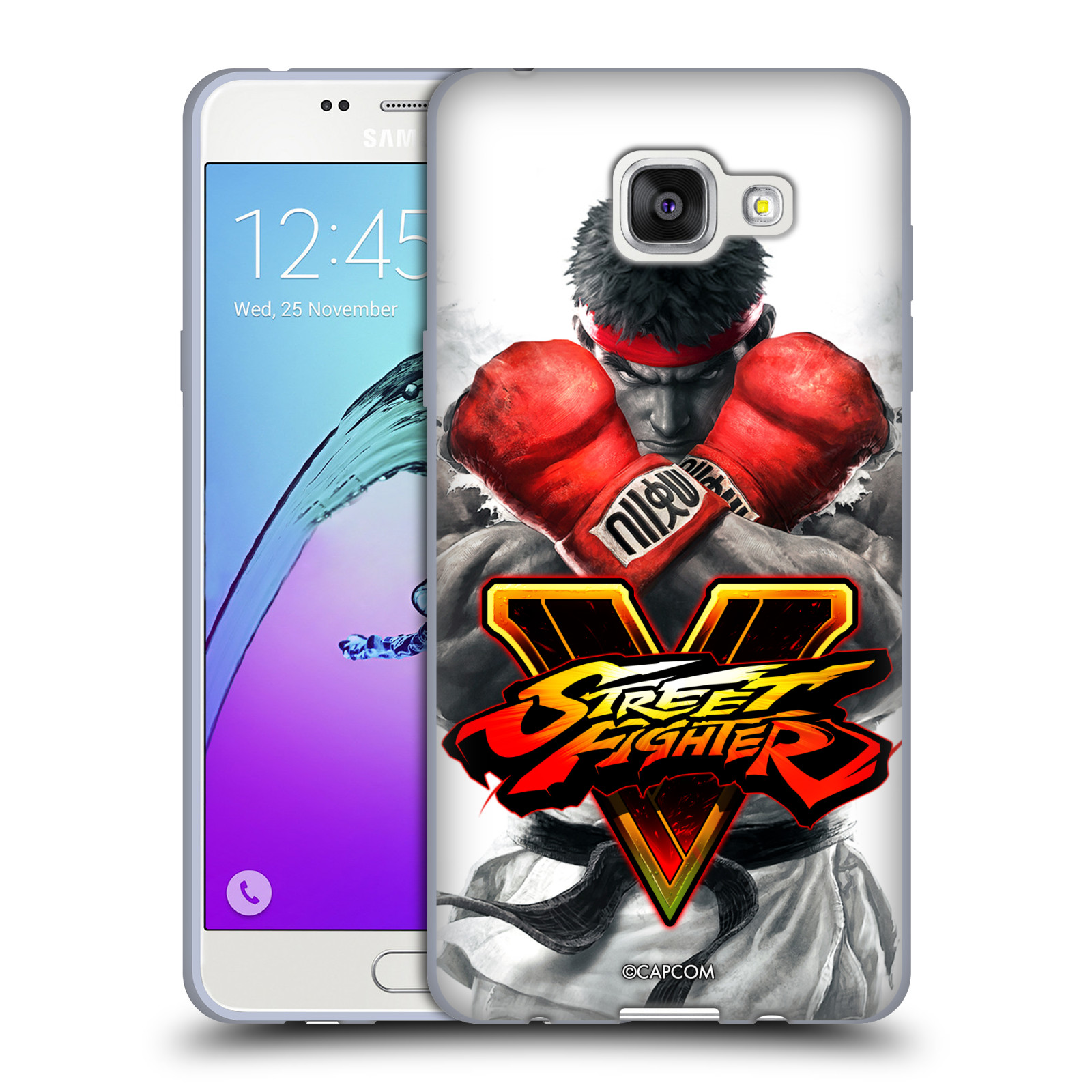 HEAD CASE silikonový obal na mobil Samsung Galaxy A5 2016 (A510) oficiální kryt STREET FIGHTER Boxer Ryu