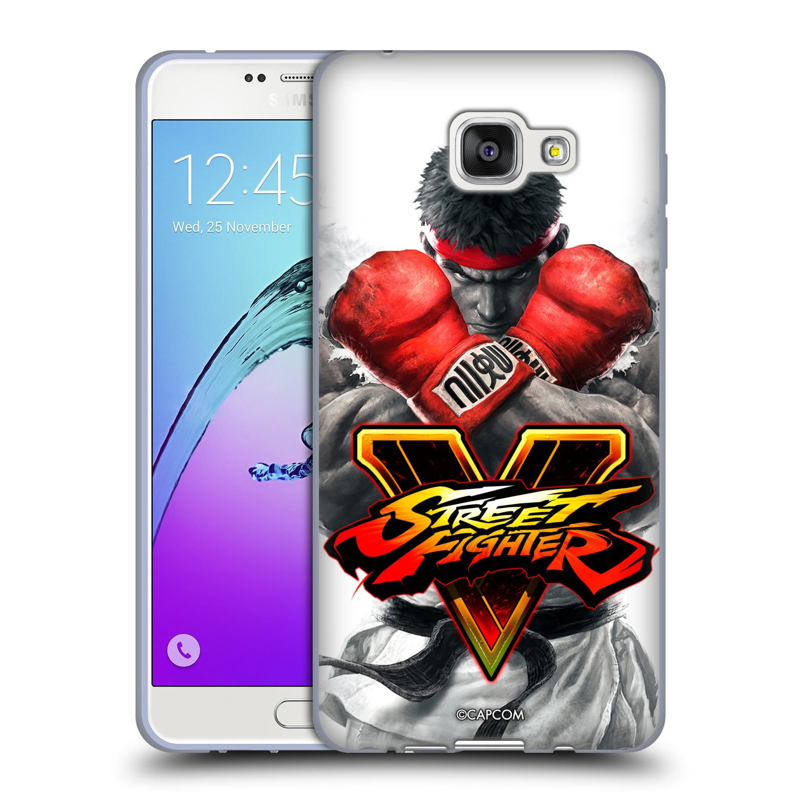 HEAD CASE silikonový obal na mobil Samsung Galaxy A7 2016 (A710) oficiální kryt STREET FIGHTER Boxer Ryu