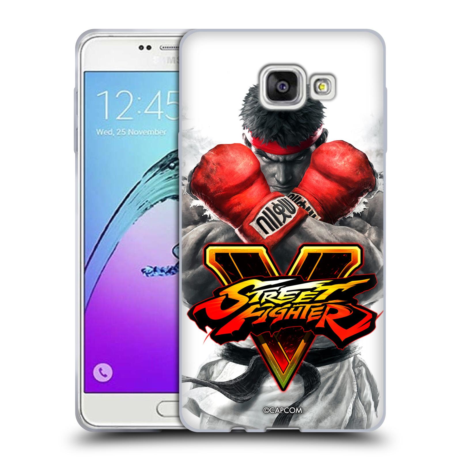 HEAD CASE silikonový obal na mobil Samsung Galaxy A7 2017 (A720) oficiální kryt STREET FIGHTER Boxer Ryu