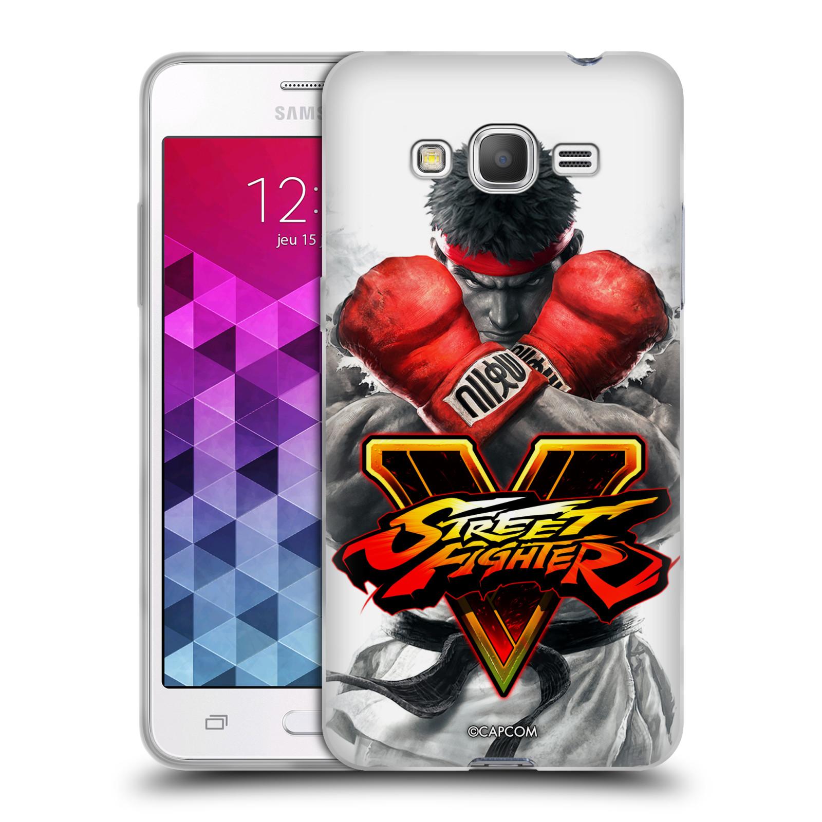 HEAD CASE silikonový obal na mobil Samsung Galaxy Grand Prime oficiální kryt STREET FIGHTER Boxer Ryu