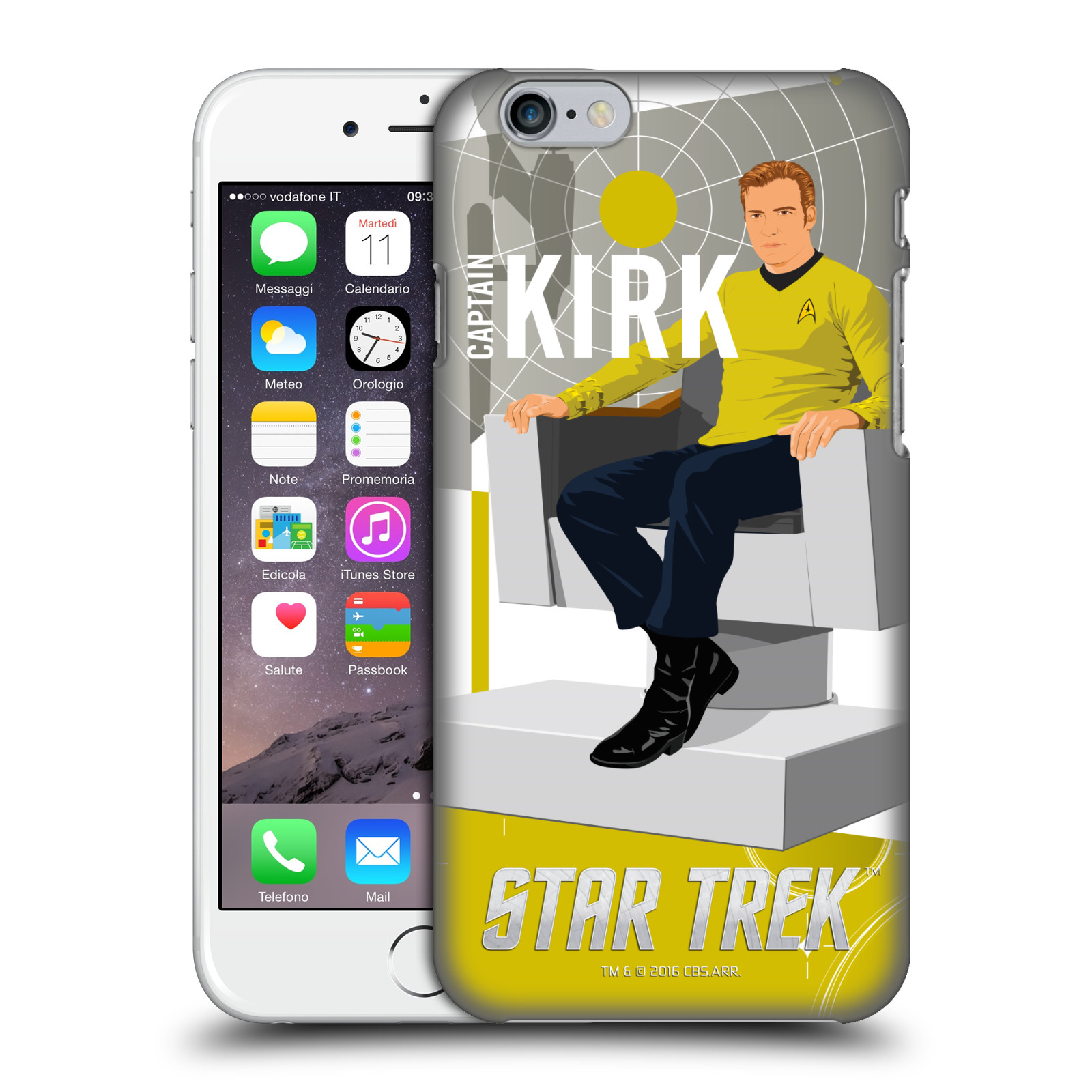 Star Trek Iconic Characters TOS-Captain Kirk
