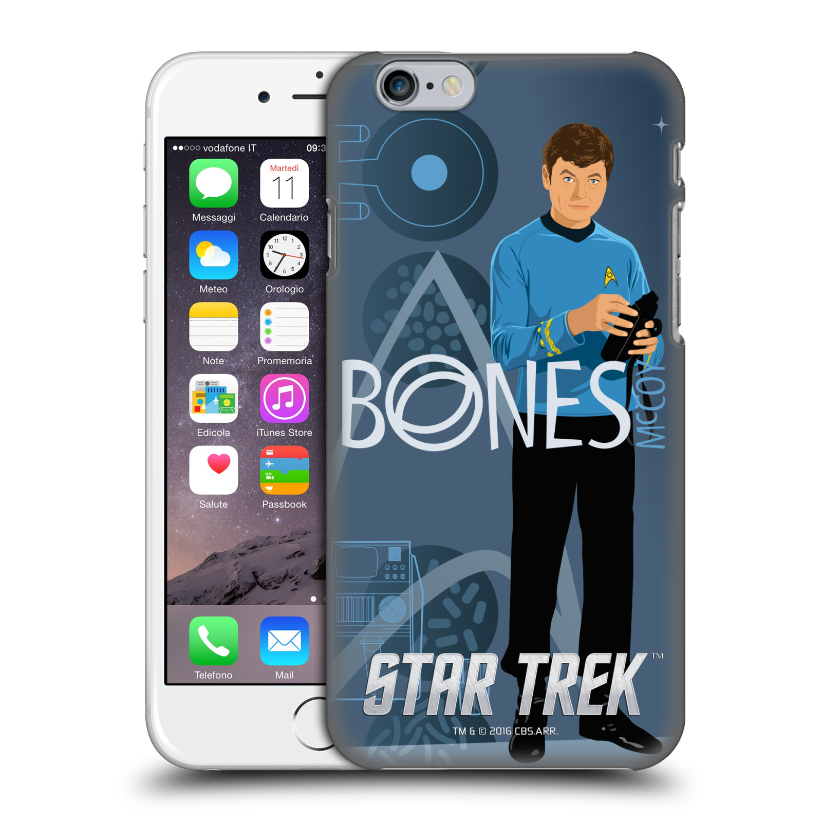 Star Trek Iconic Characters TOS-Doctor Mccoy
