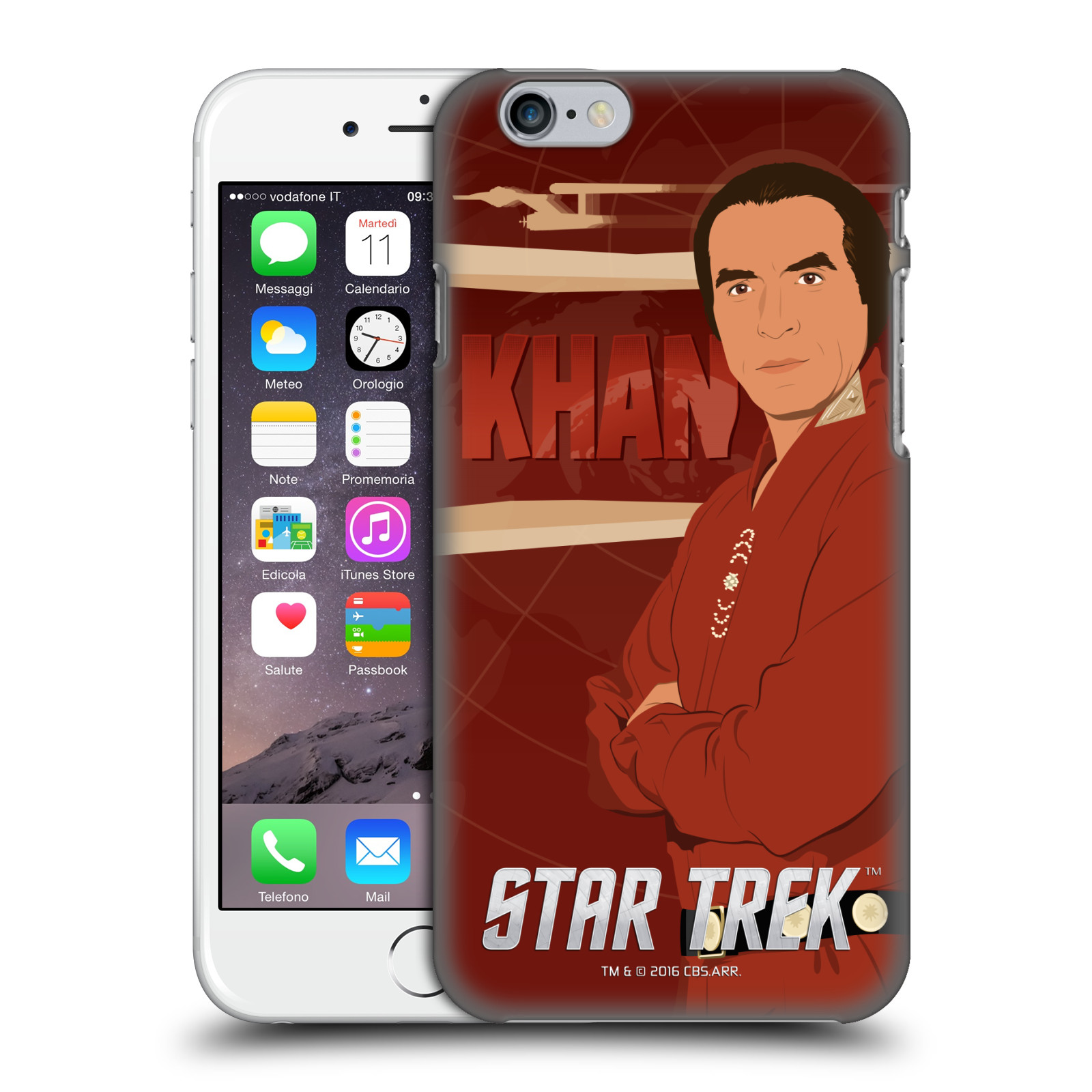 Star Trek Iconic Characters TOS-Khan