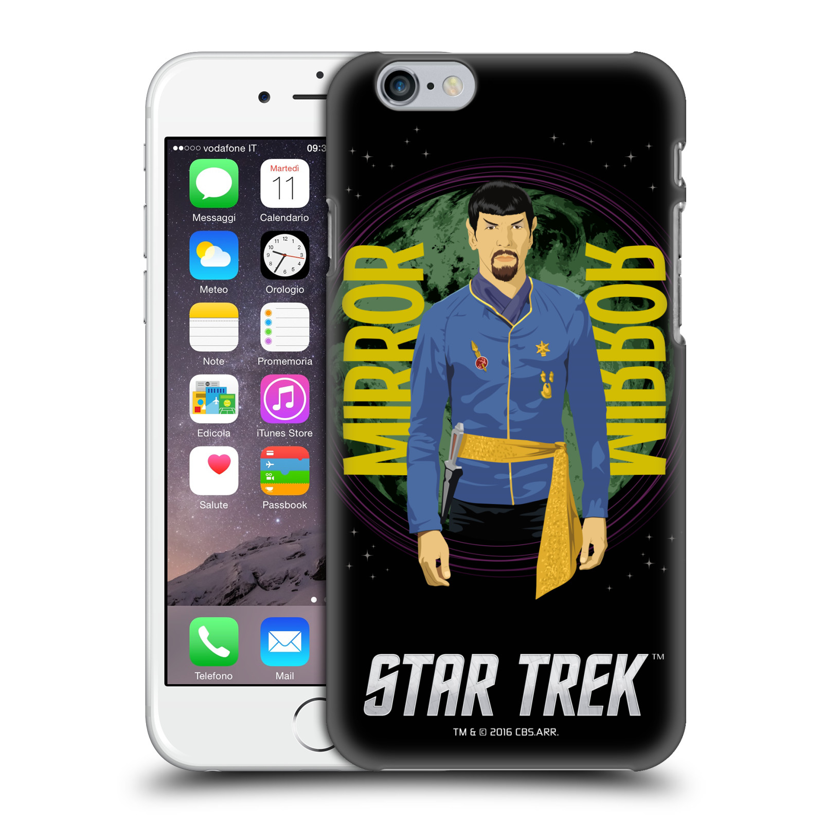 Star Trek Iconic Characters TOS-Mirror Spock
