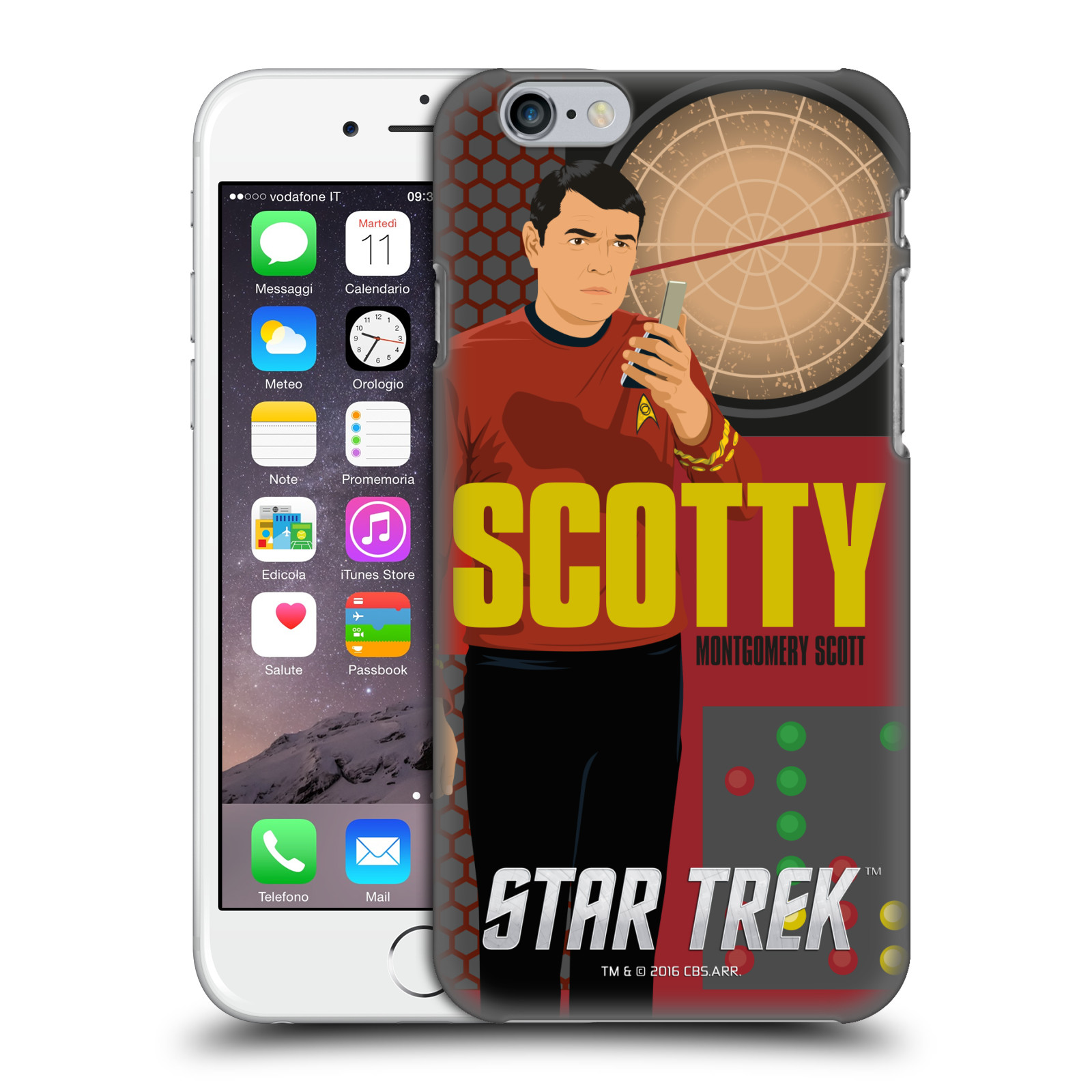 Star Trek Iconic Characters TOS-Scotty