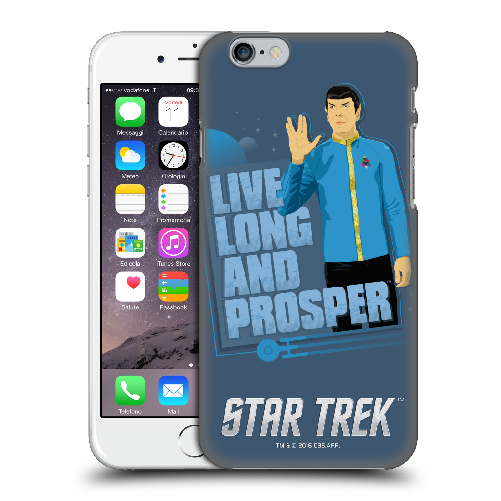 Star Trek Iconic Characters TOS-Spock