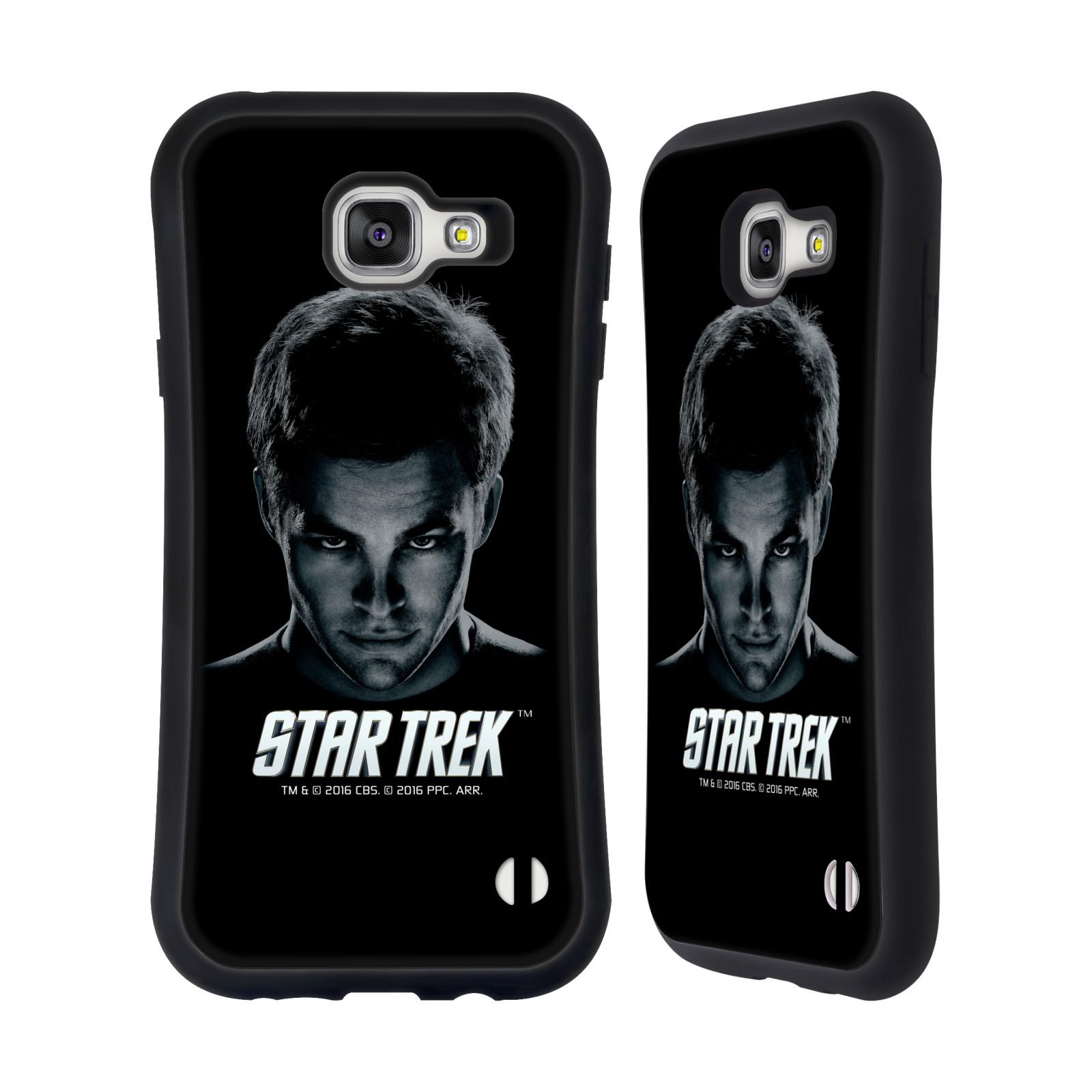 HEAD CASE silikon/plast odolný obal na mobil Samsung Galaxy A7 2016 (A710F) Star Trek Filmové postavy kapitán Kirk