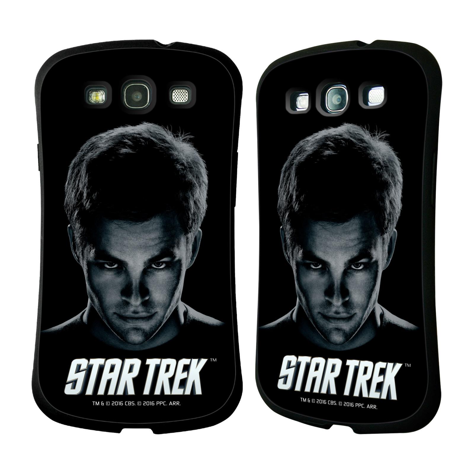 HEAD CASE silikon/plast odolný obal na mobil Samsung Galaxy S3 i9300 / S3 NEO Star Trek Filmové postavy kapitán Kirk