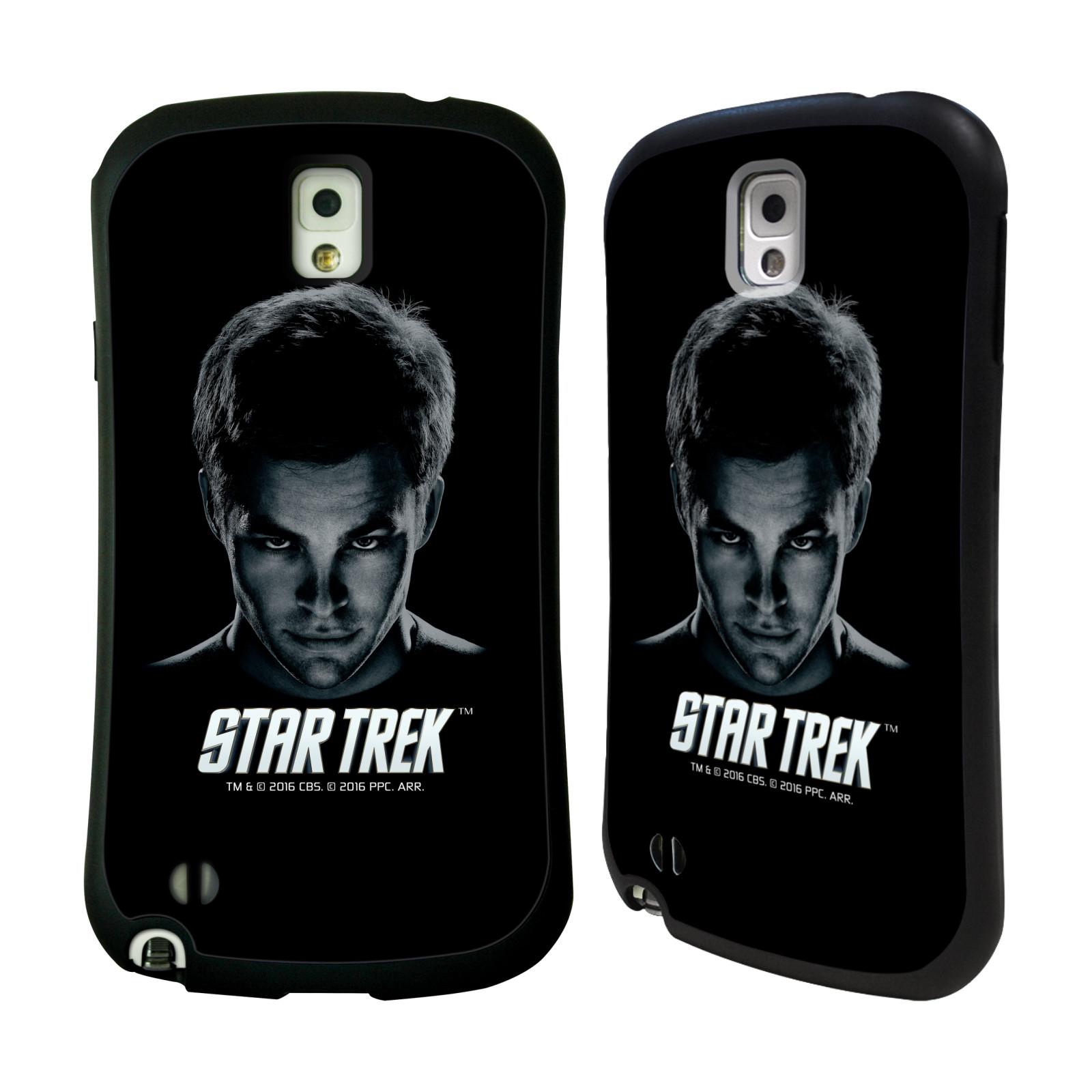 HEAD CASE silikon/plast odolný obal na mobil Samsung Galaxy NOTE 3 (N9005) Star Trek Filmové postavy kapitán Kirk
