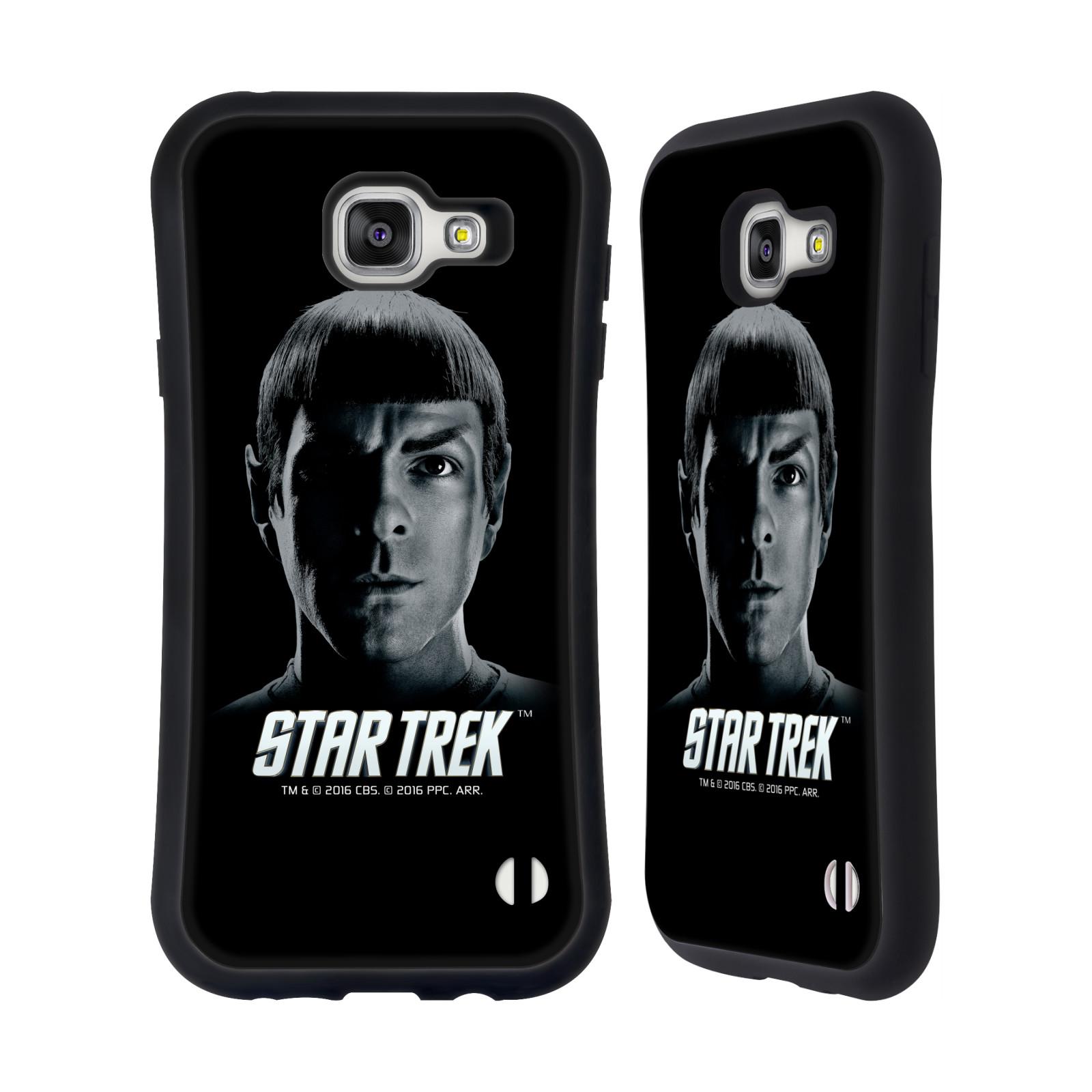 HEAD CASE silikon/plast odolný obal na mobil Samsung Galaxy A7 2016 (A710F) Star Trek Filmové postavy Spock černá