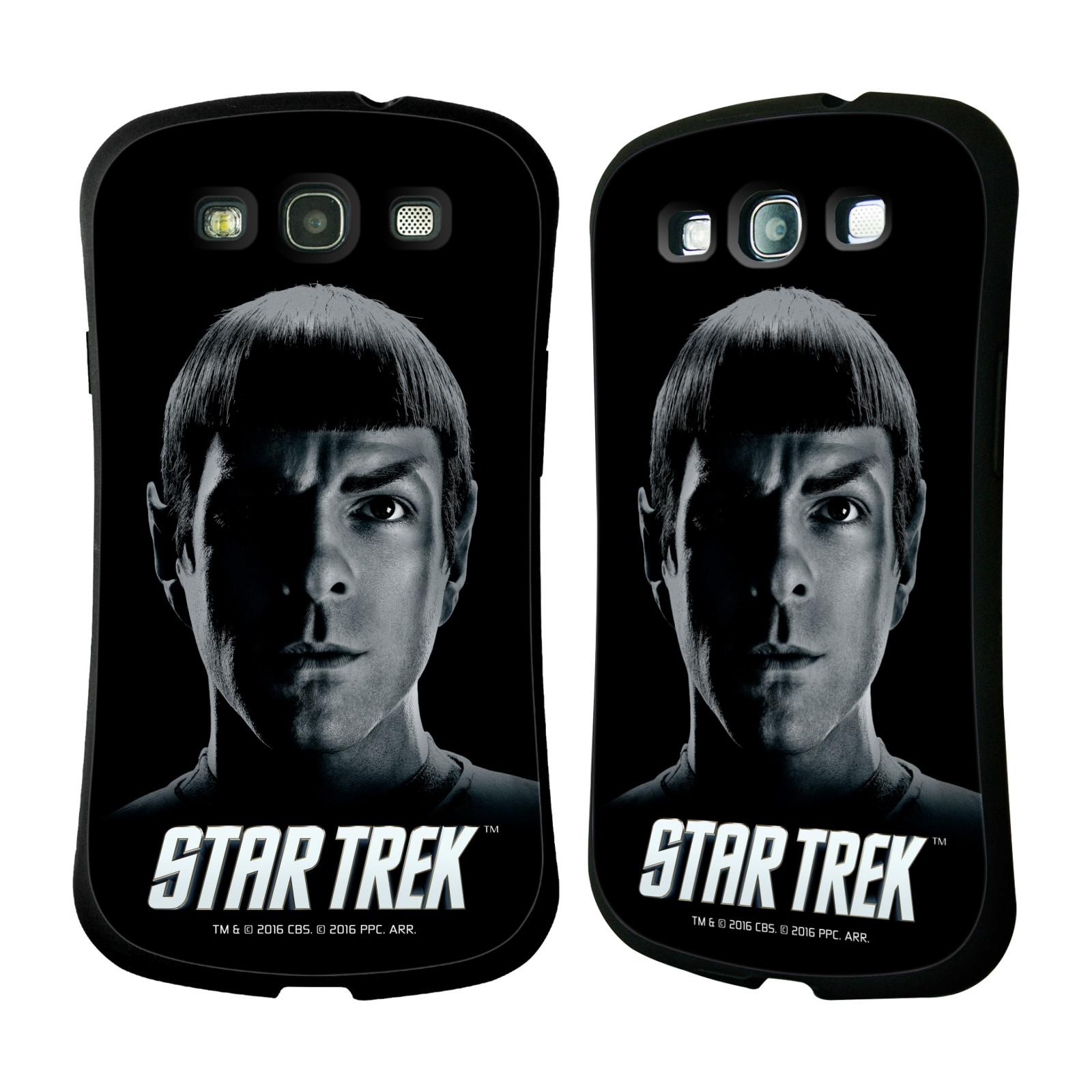 HEAD CASE silikon/plast odolný obal na mobil Samsung Galaxy S3 i9300 / S3 NEO Star Trek Filmové postavy Spock černá