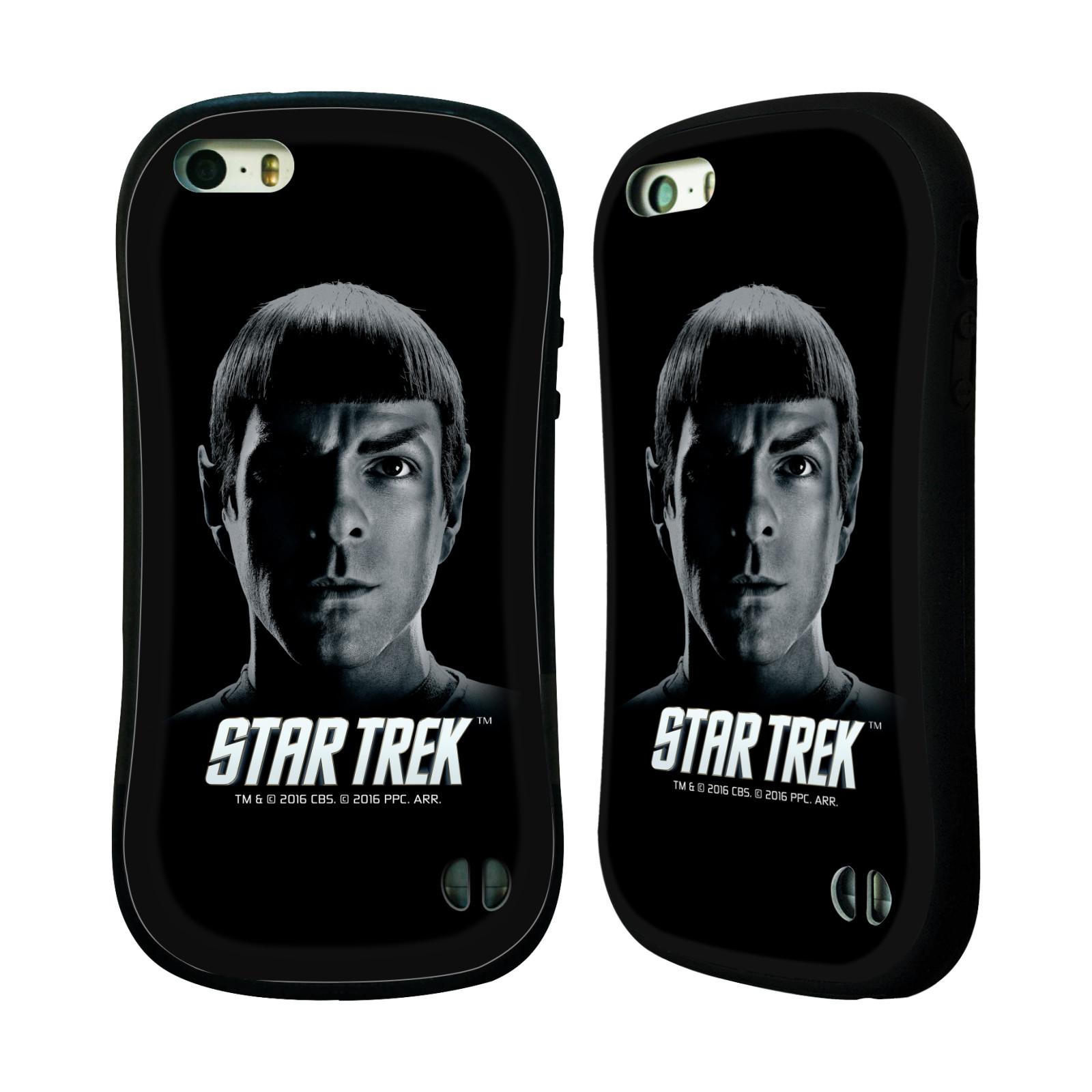 HEAD CASE silikon/plast odolný obal na mobil Apple Iphone 5 / 5S Star Trek Filmové postavy Spock černá