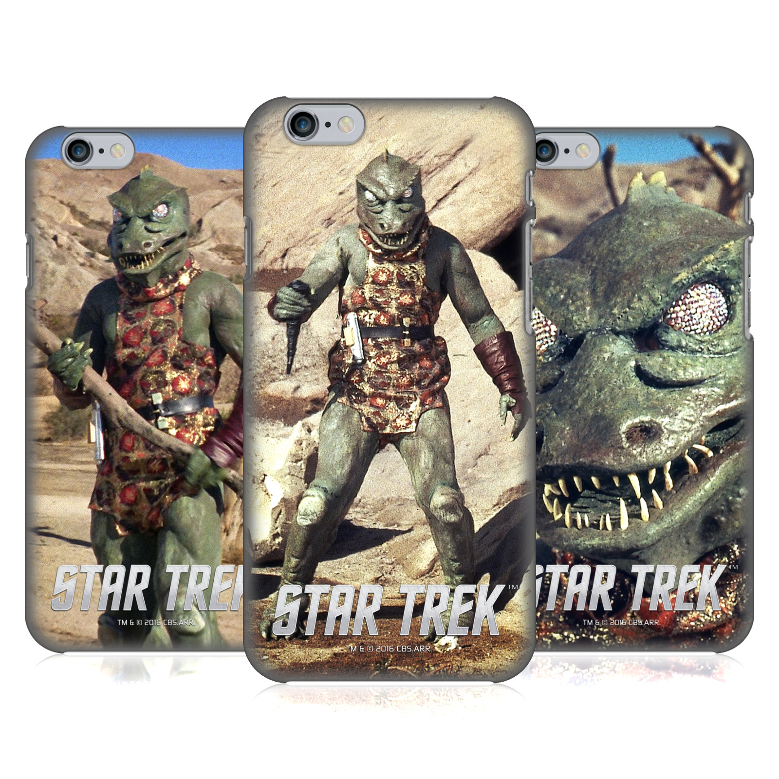 Star Trek Gorn Captain TOS