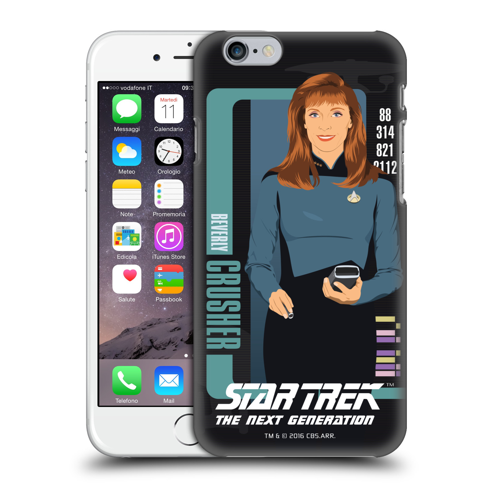 Star Trek Iconic Characters TNG-Beverly Crusher