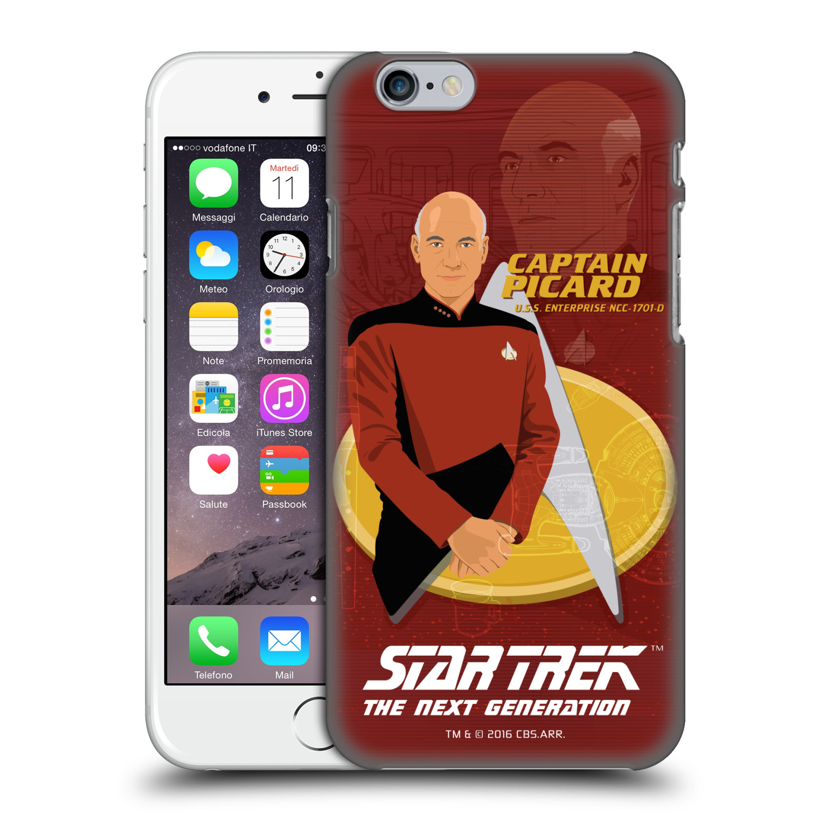 Star Trek Iconic Characters TNG-Captain Picard