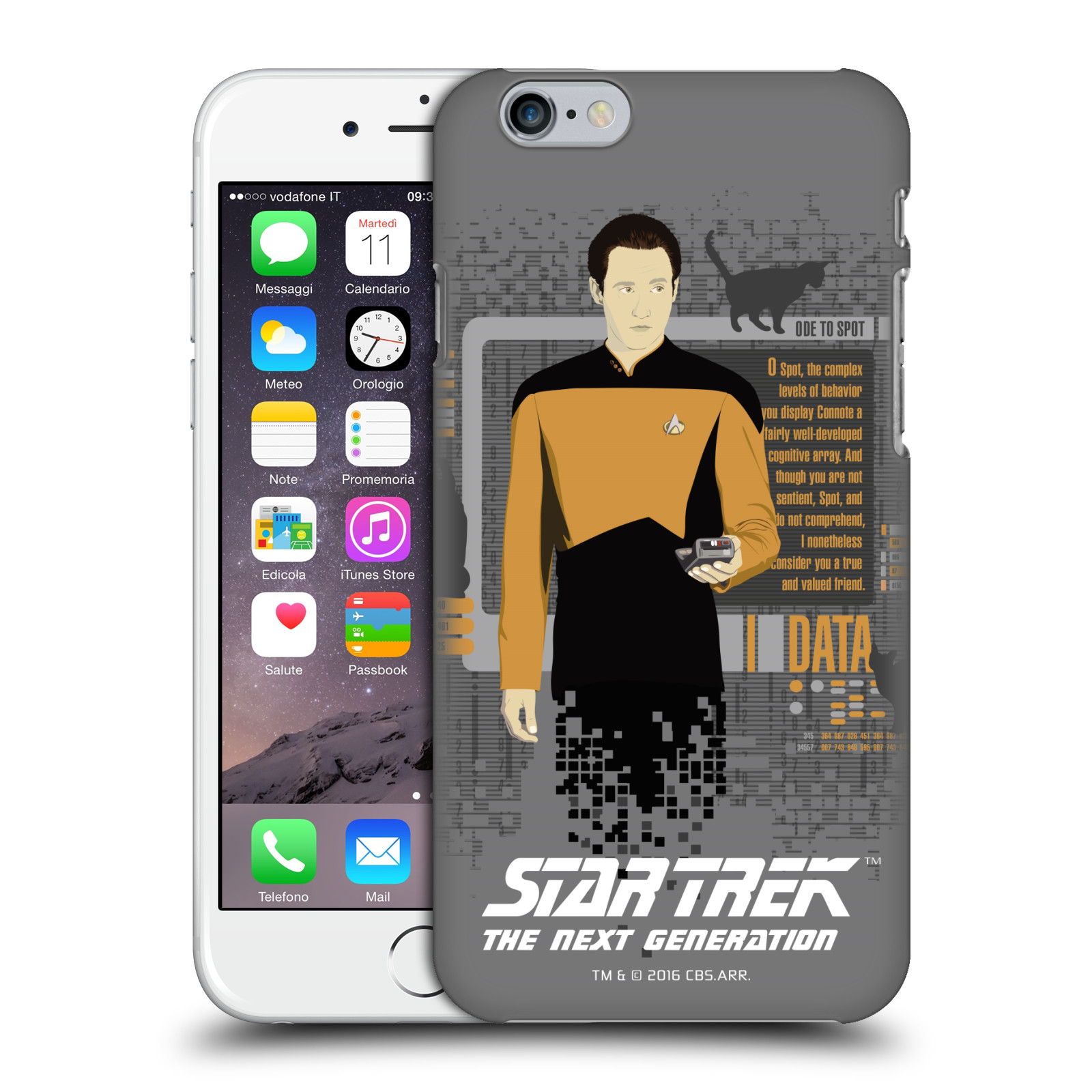 Star Trek Iconic Characters TNG-Data