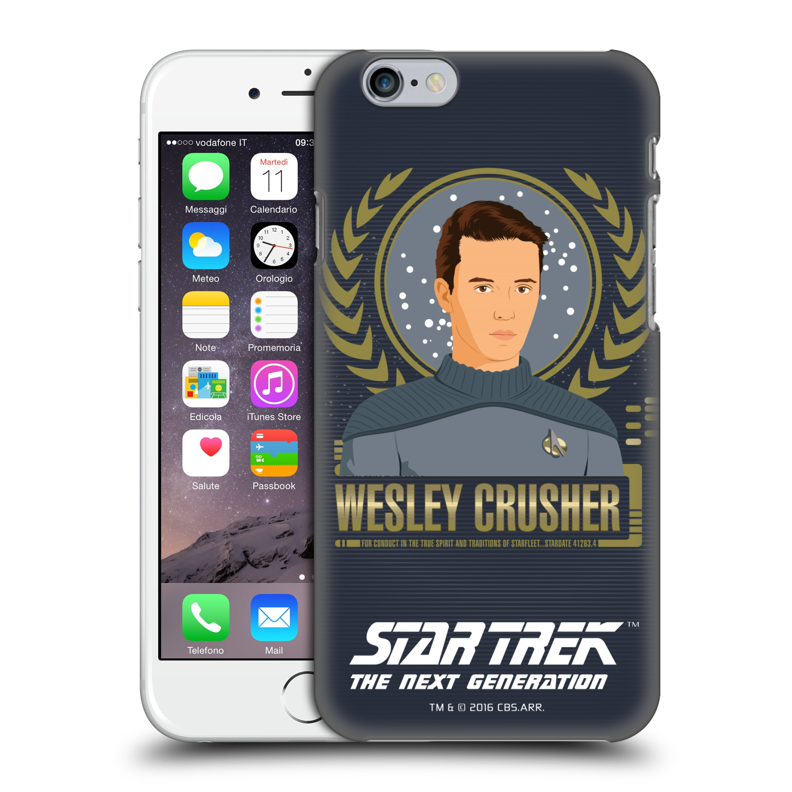 Star Trek Iconic Characters TNG-Wesley Crusher
