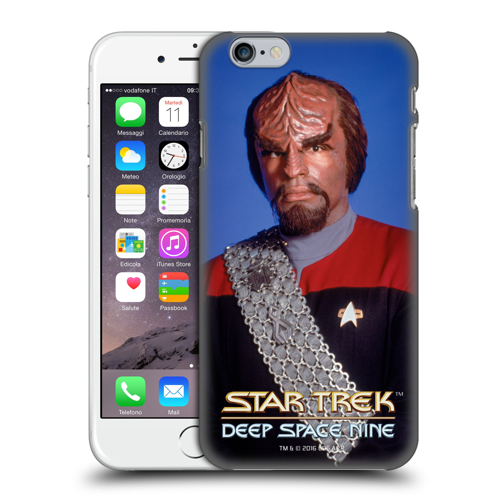 Star Trek Iconic Characters DS9-Worf