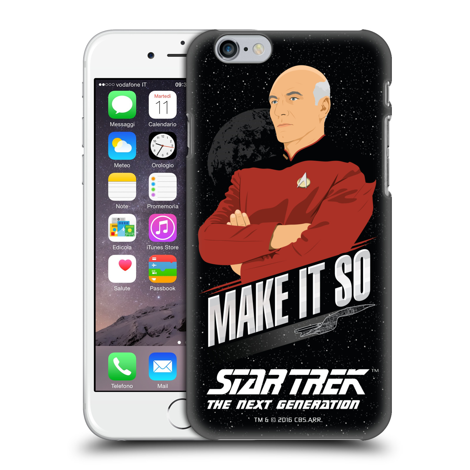 Star Trek Iconic Phrases TNG-Make It So Picard