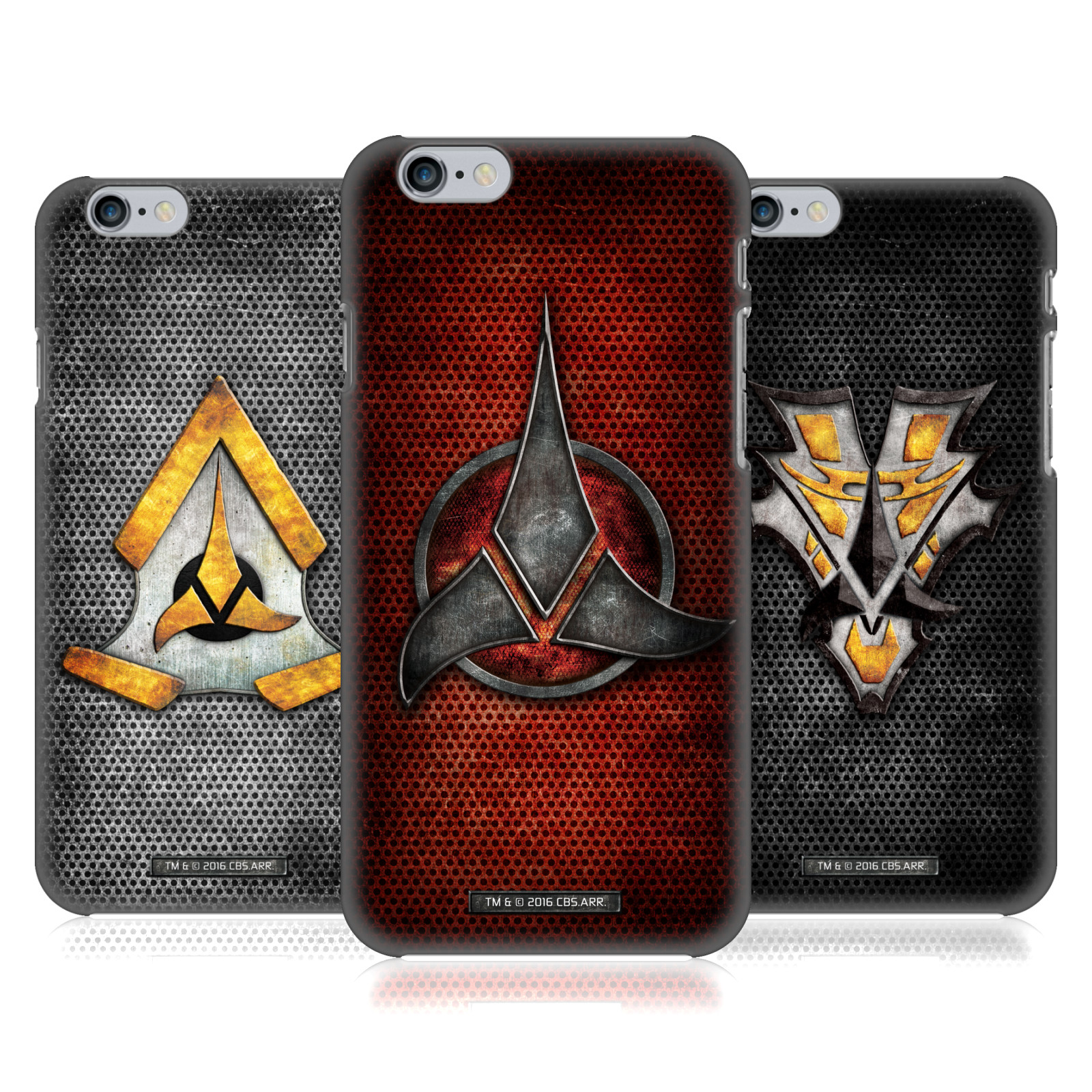 Star Trek Klingon Badges