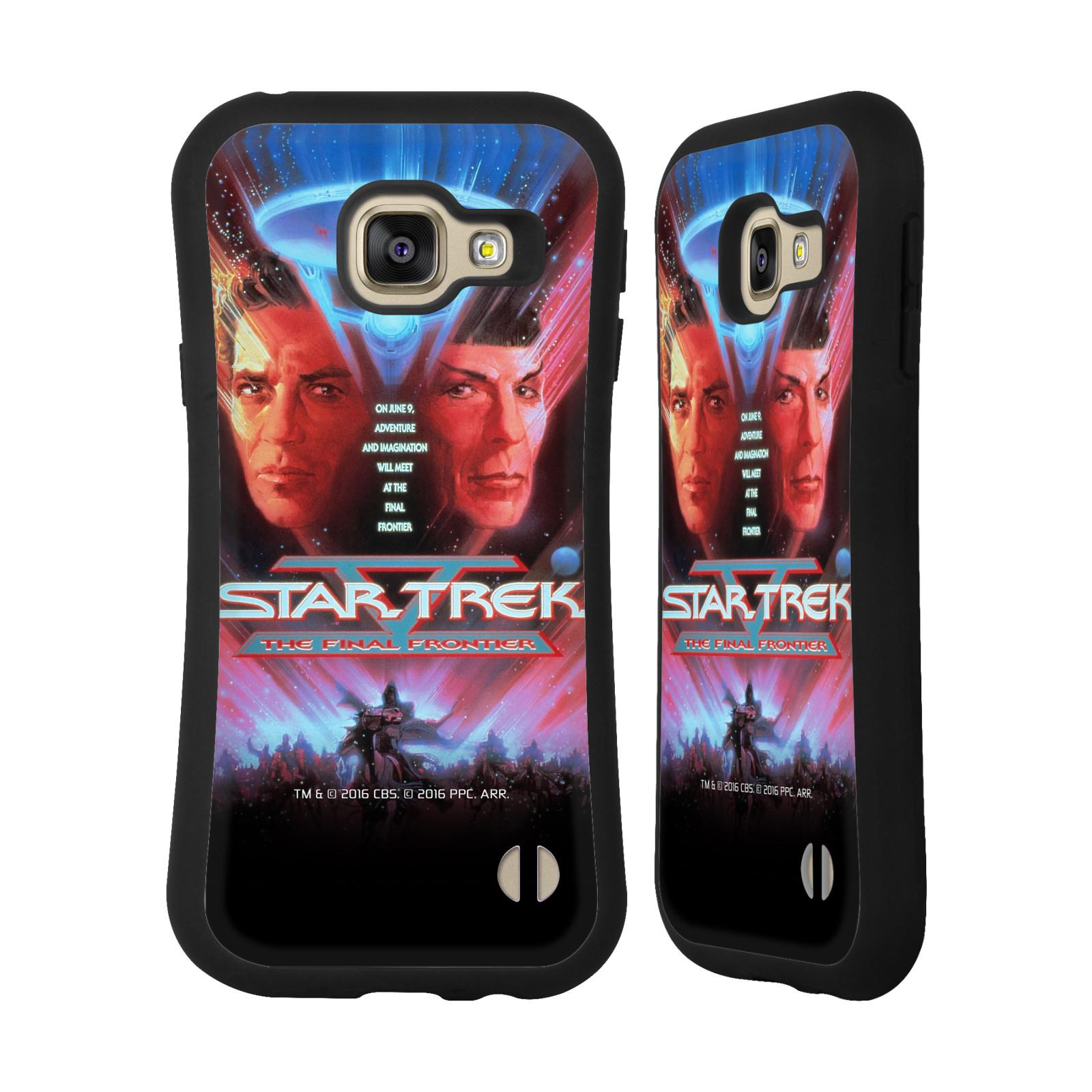 HEAD CASE silikon/plast odolný obal na mobil Samsung Galaxy A3 2016 (A310F) Star Trek Filmové plakáty Nejzazší hranice