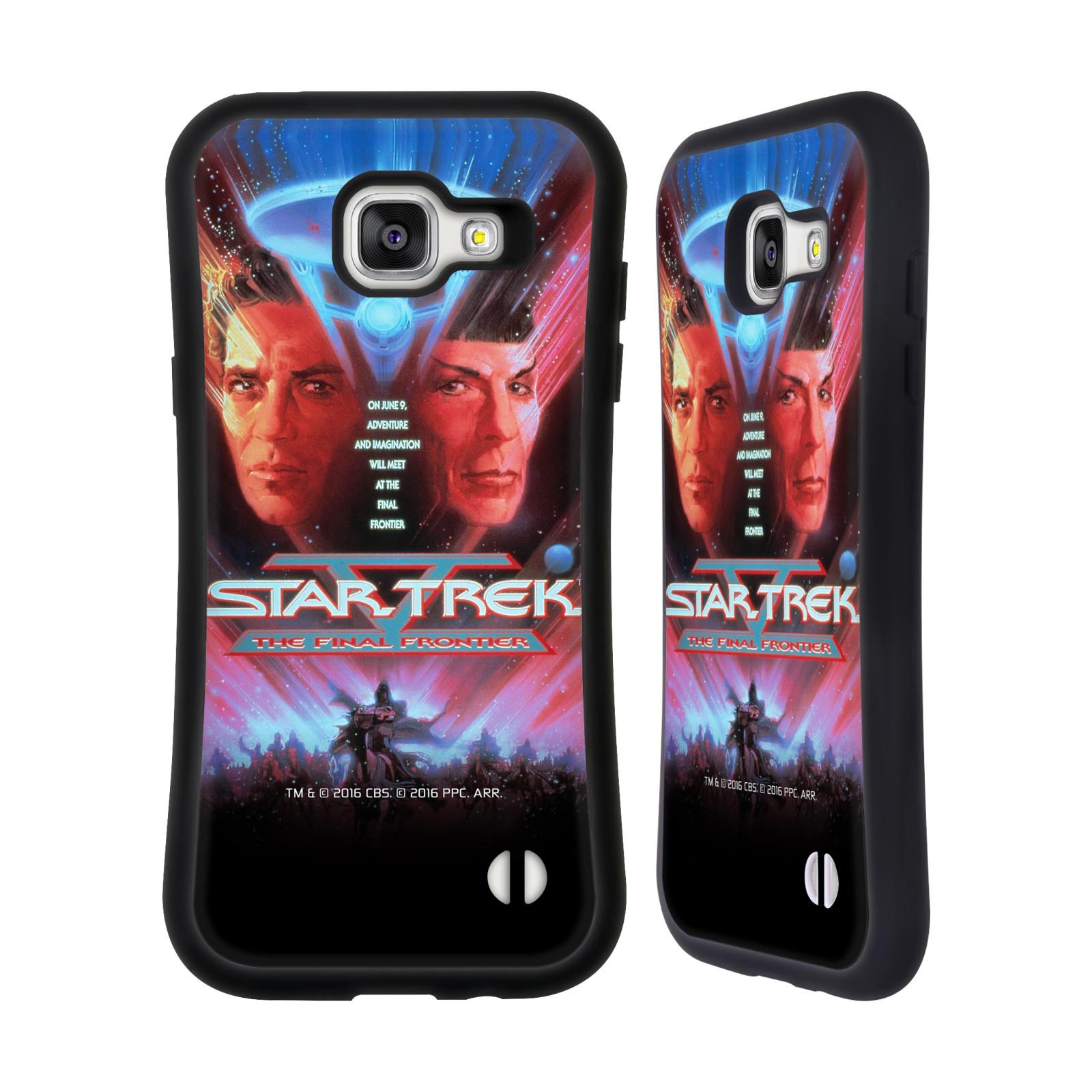 HEAD CASE silikon/plast odolný obal na mobil Samsung Galaxy A5 2016 (A510F) Star Trek Filmové plakáty Nejzazší hranice
