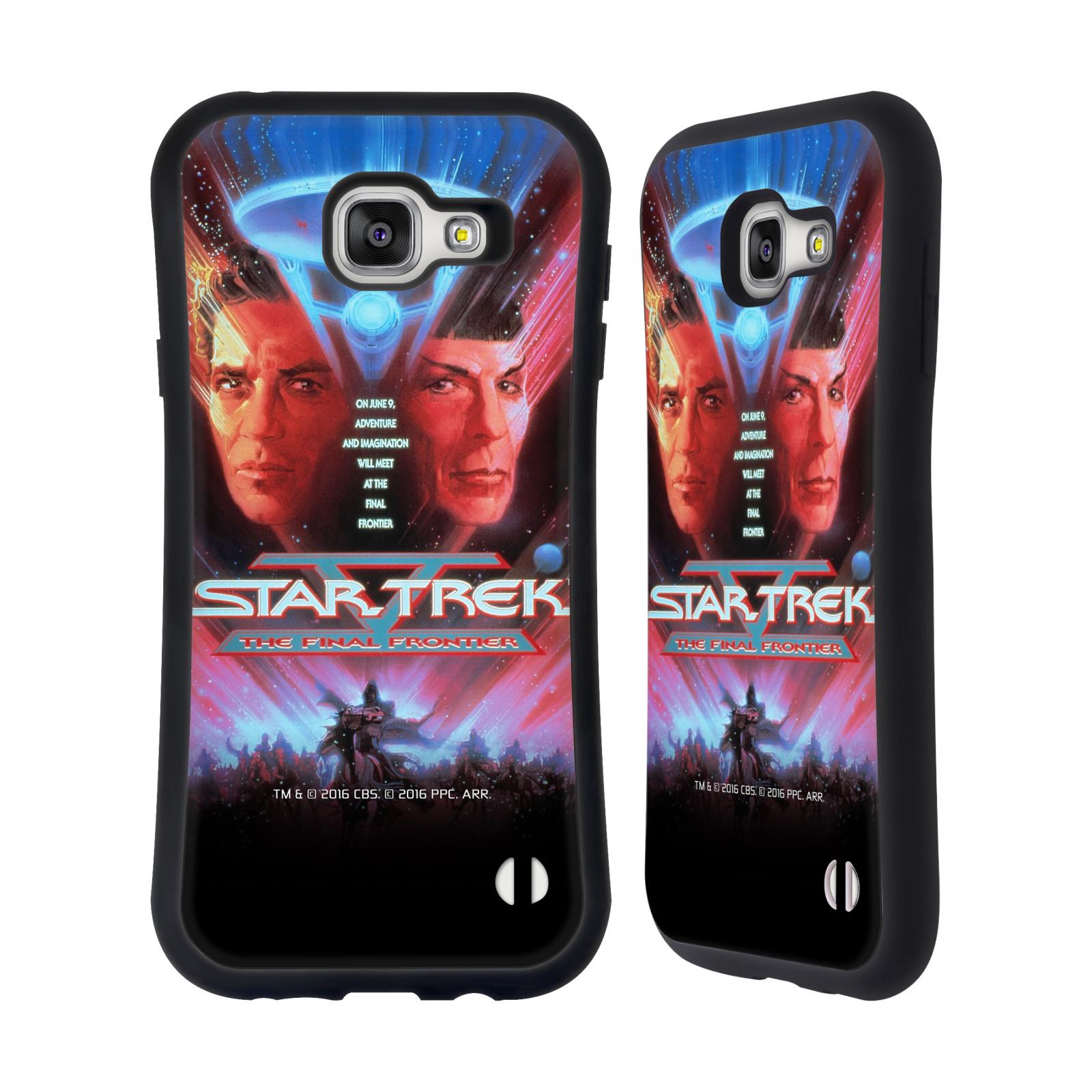 HEAD CASE silikon/plast odolný obal na mobil Samsung Galaxy A7 2016 (A710F) Star Trek Filmové plakáty Nejzazší hranice