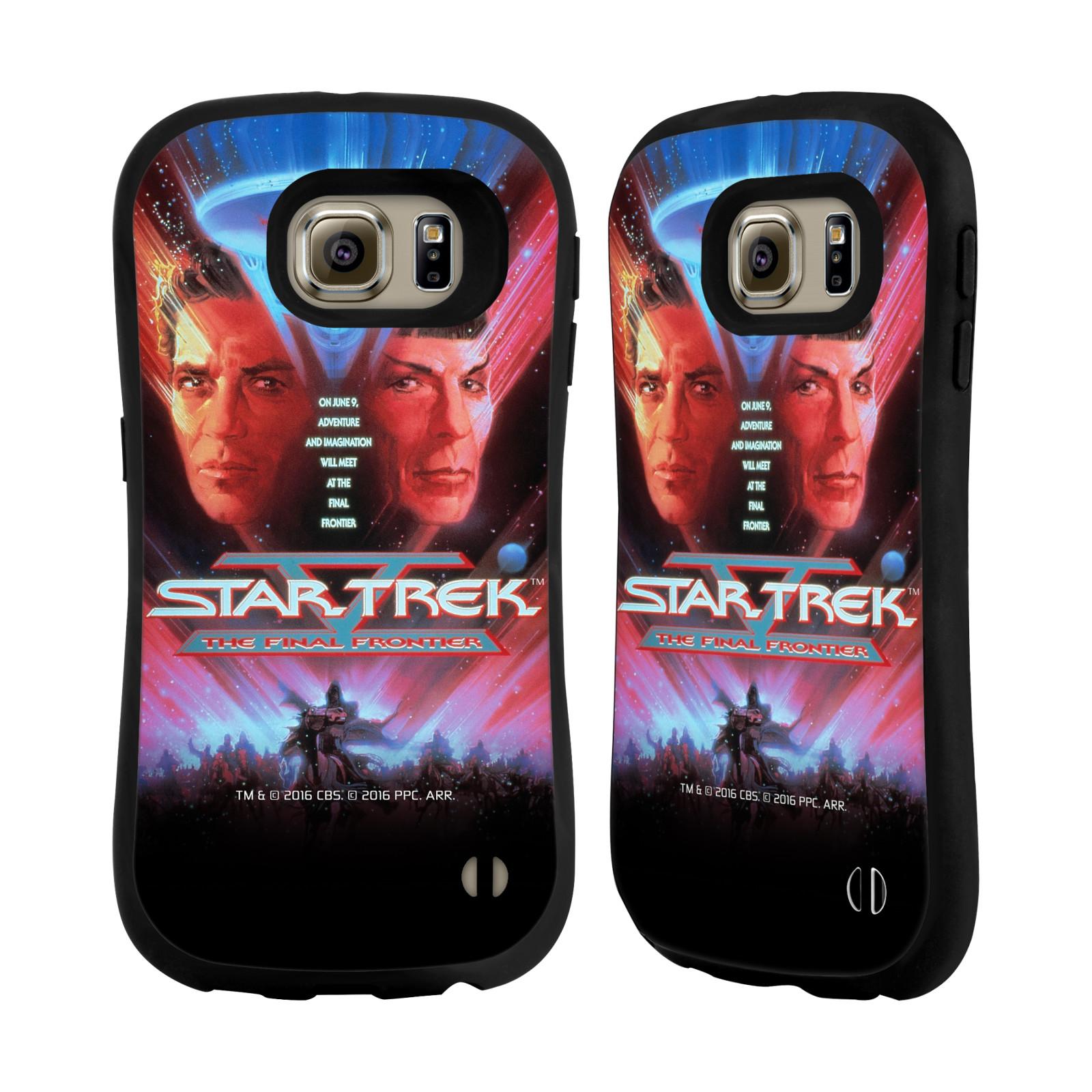 HEAD CASE silikon/plast odolný obal na mobil Samsung Galaxy S6 (G920F) Star Trek Filmové plakáty Nejzazší hranice