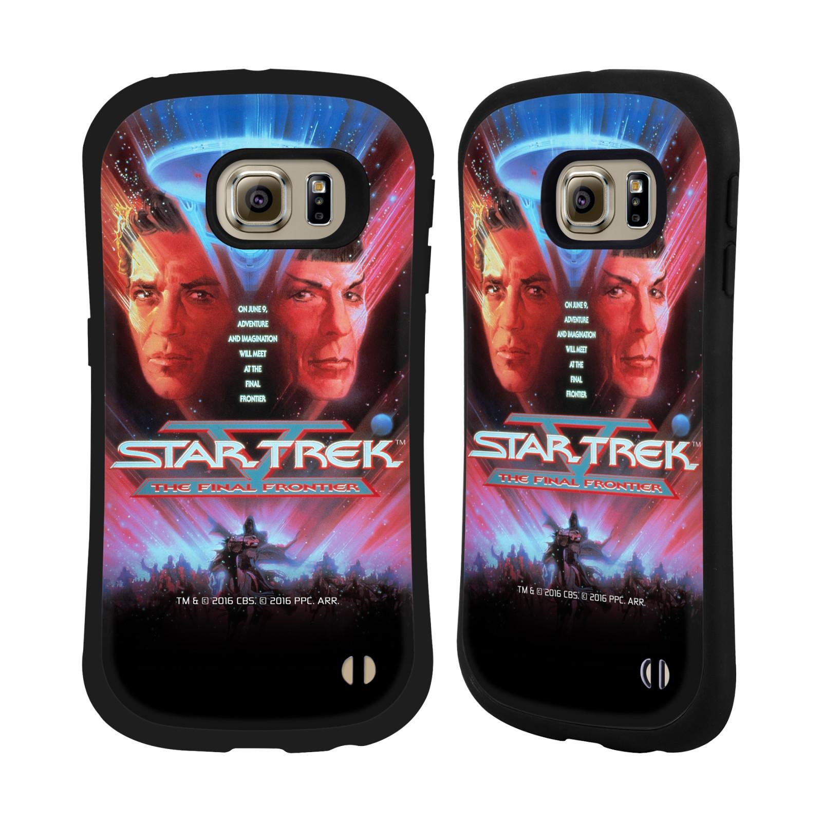 HEAD CASE silikon/plast odolný obal na mobil Samsung Galaxy S6 EDGE (G925) Star Trek Filmové plakáty Nejzazší hranice