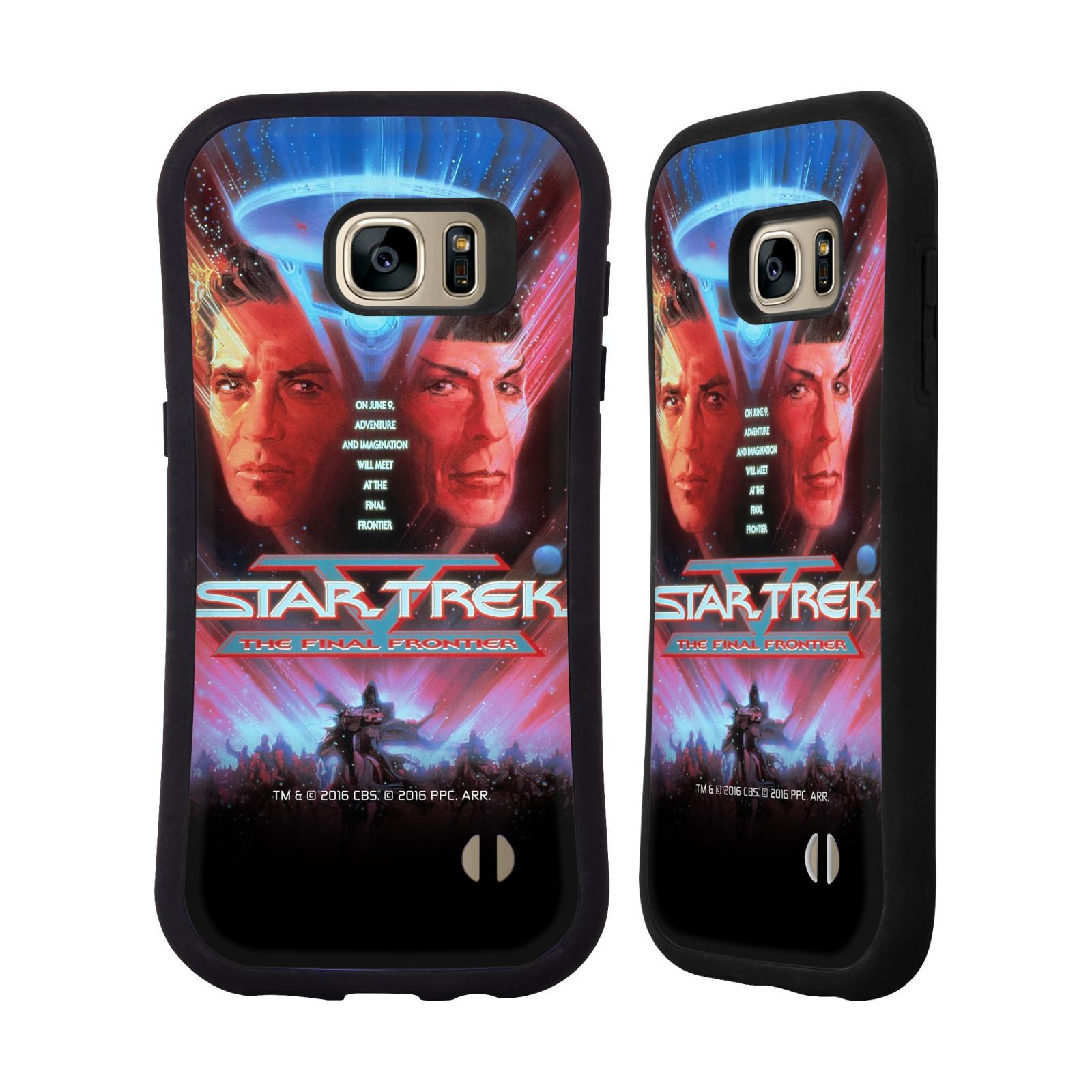 HEAD CASE silikon/plast odolný obal na mobil Samsung Galaxy S7 EDGE (G935F) Star Trek Filmové plakáty Nejzazší hranice