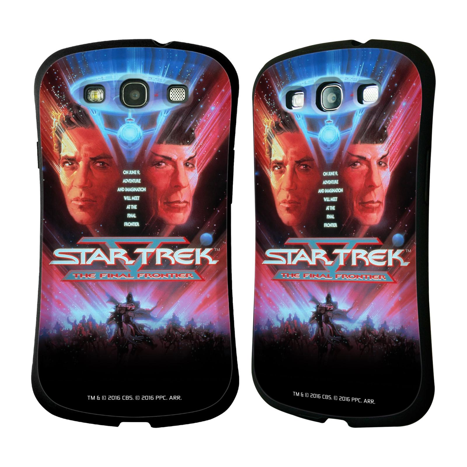 HEAD CASE silikon/plast odolný obal na mobil Samsung Galaxy S3 i9300 / S3 NEO Star Trek Filmové plakáty Nejzazší hranice