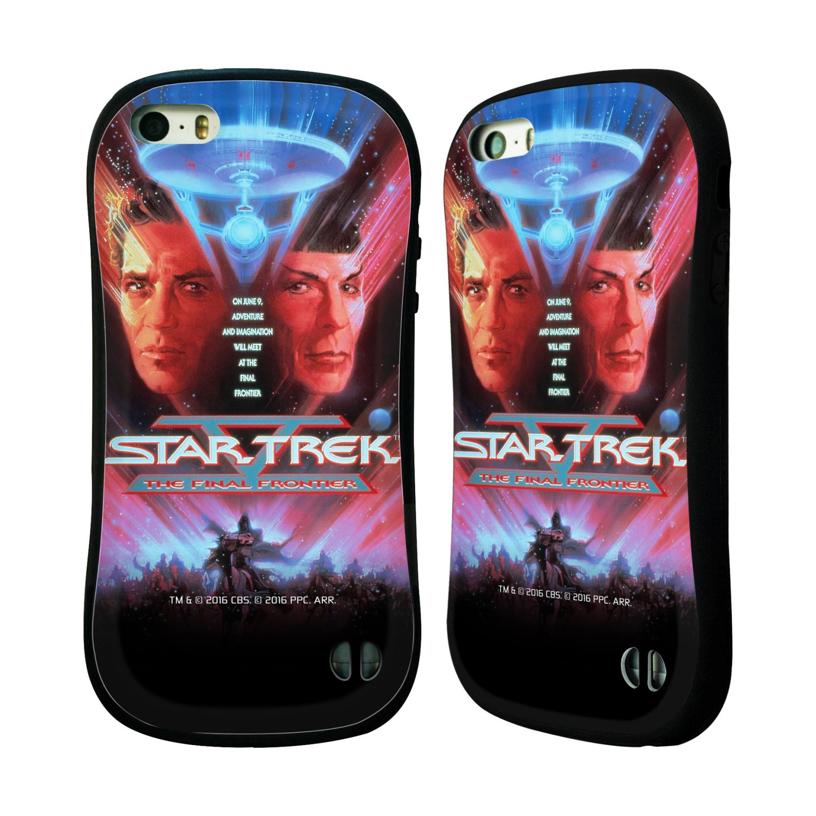 HEAD CASE silikon/plast odolný obal na mobil Apple Iphone 5 / 5S Star Trek Filmové plakáty Nejzazší hranice