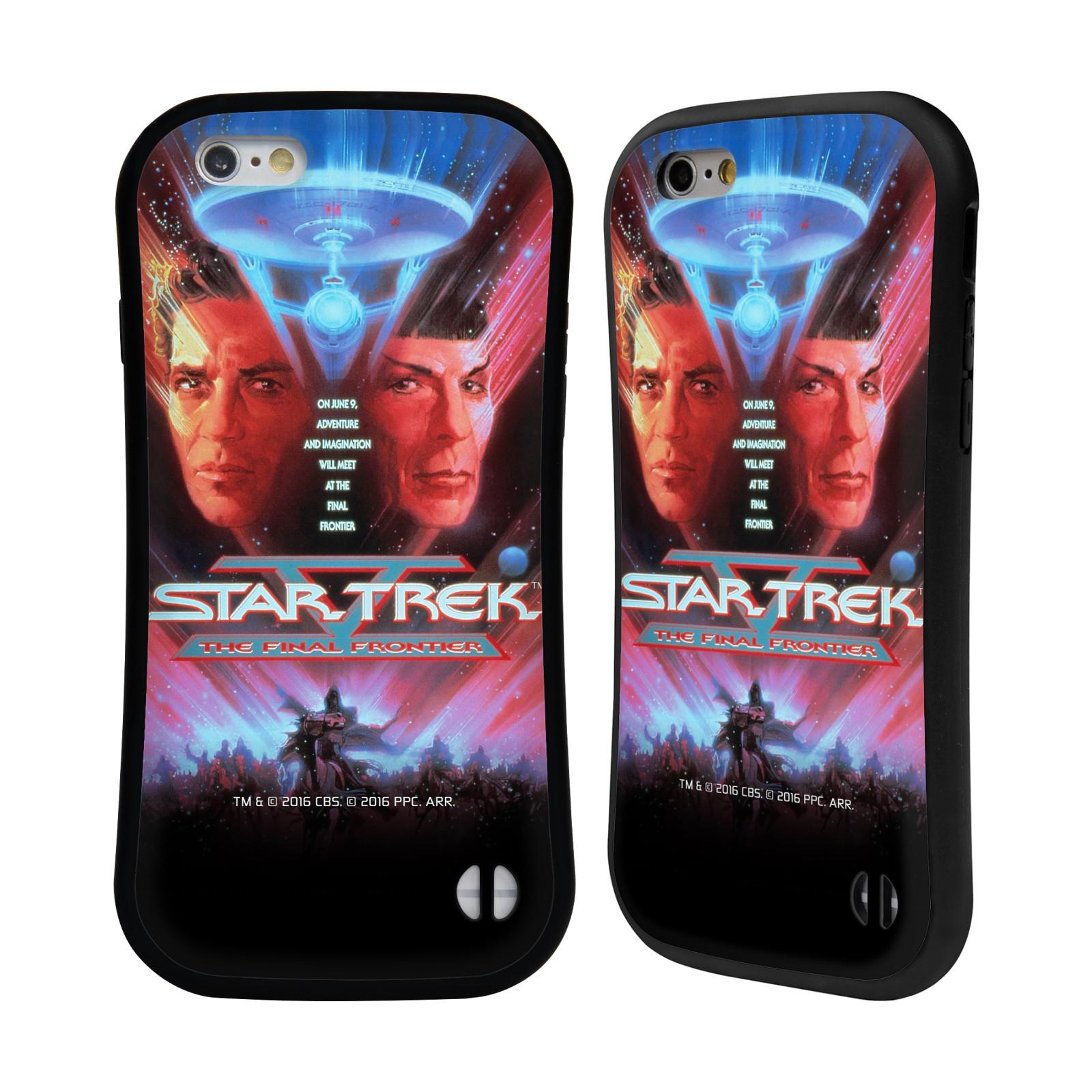 HEAD CASE silikon/plast odolný obal na mobil Apple Iphone 6/6S Star Trek Filmové plakáty Nejzazší hranice
