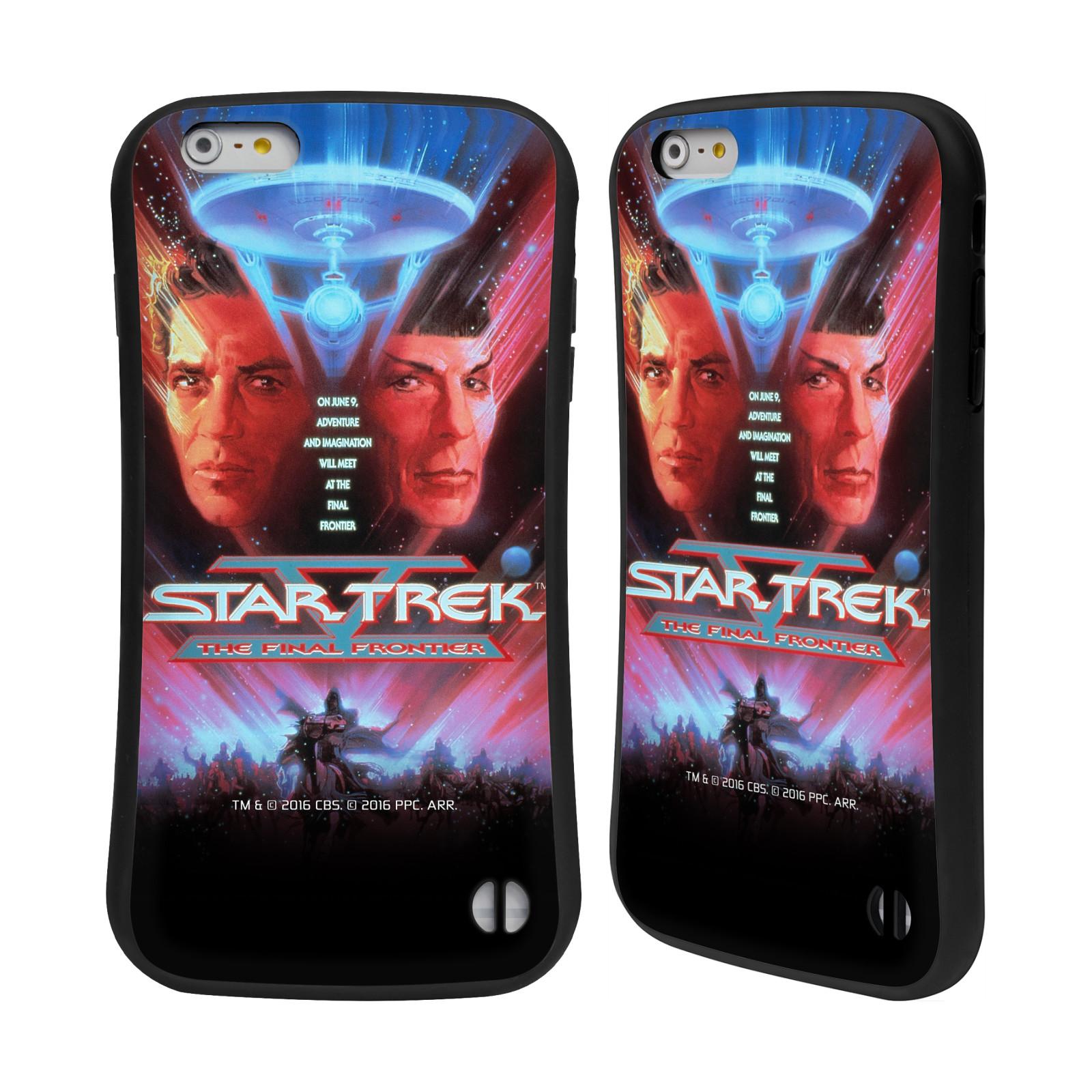 HEAD CASE silikon/plast odolný obal na mobil Apple Iphone 6 PLUS / 6S PLUS Star Trek Filmové plakáty Nejzazší hranice