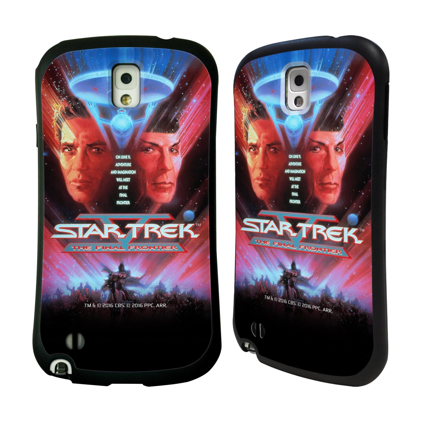 HEAD CASE silikon/plast odolný obal na mobil Samsung Galaxy NOTE 3 (N9005) Star Trek Filmové plakáty Nejzazší hranice
