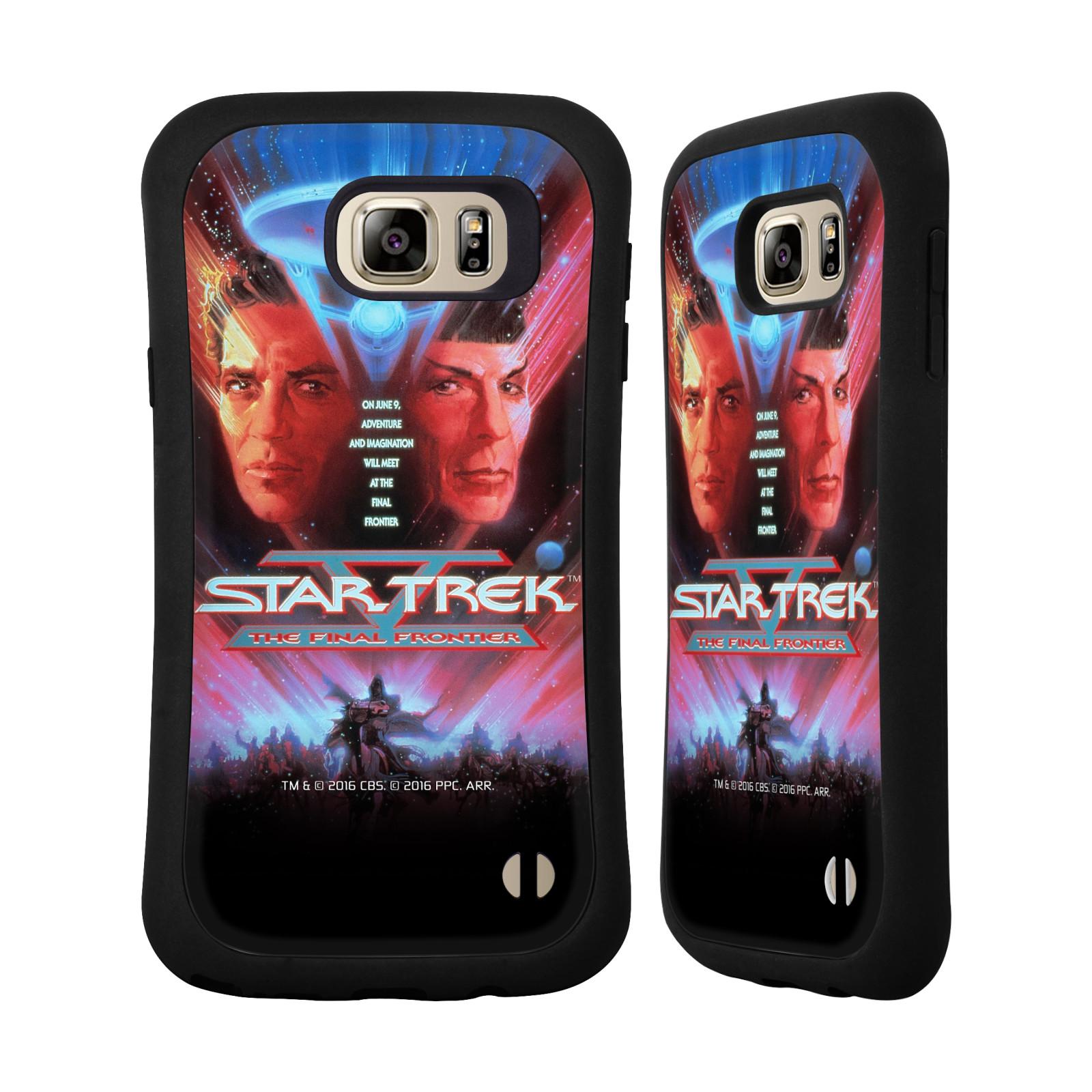 HEAD CASE silikon/plast odolný obal na mobil Samsung Galaxy NOTE 5 Star Trek Filmové plakáty Nejzazší hranice