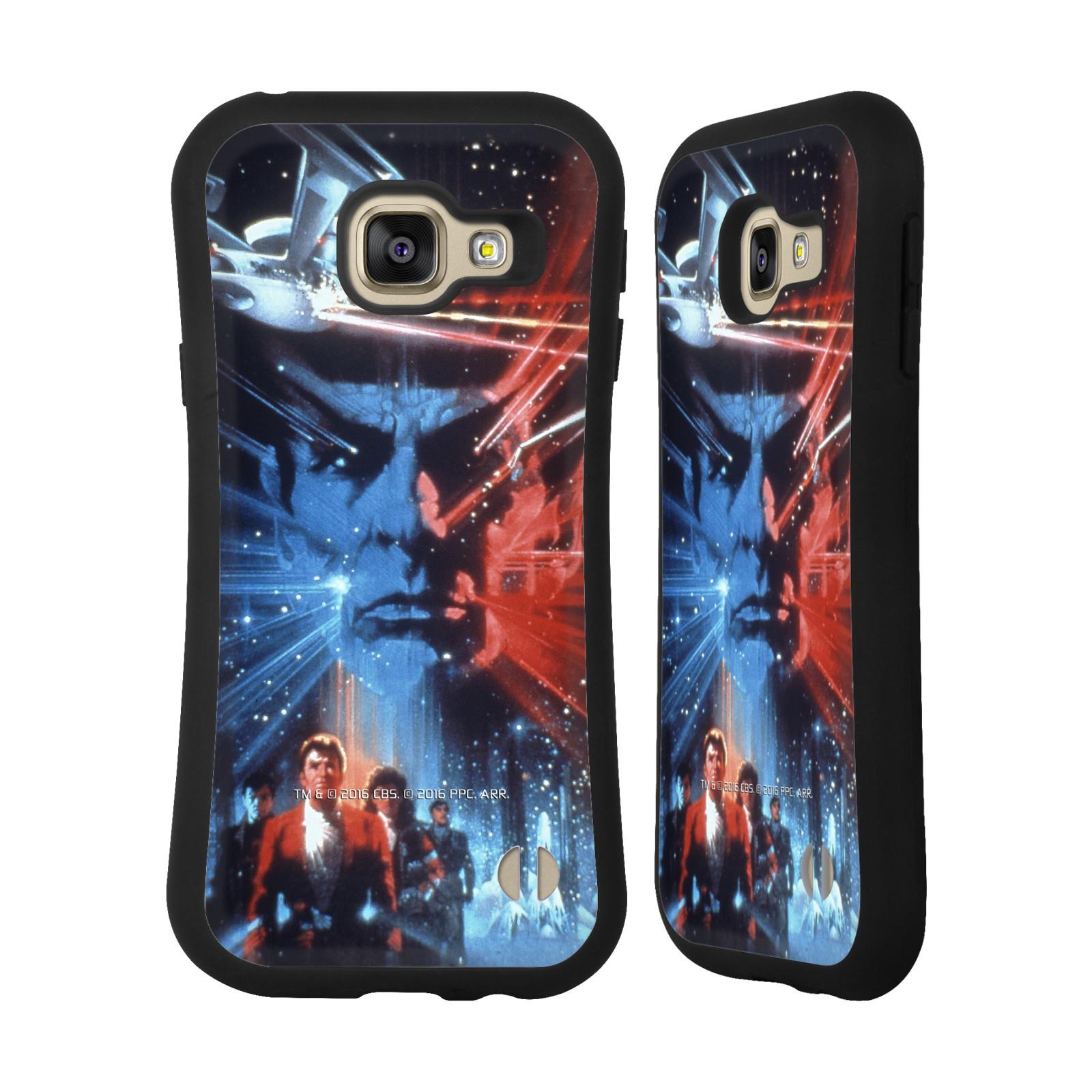 HEAD CASE silikon/plast odolný obal na mobil Samsung Galaxy A3 2016 (A310F) Star Trek Filmové plakáty Pátrání po Spockovi