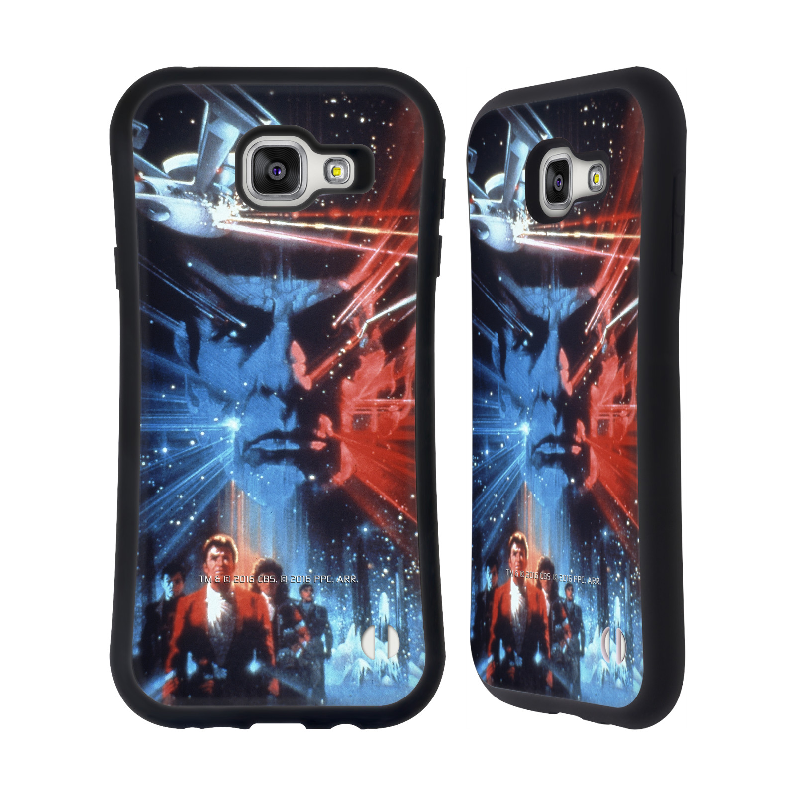 HEAD CASE silikon/plast odolný obal na mobil Samsung Galaxy A7 2016 (A710F) Star Trek Filmové plakáty Pátrání po Spockovi