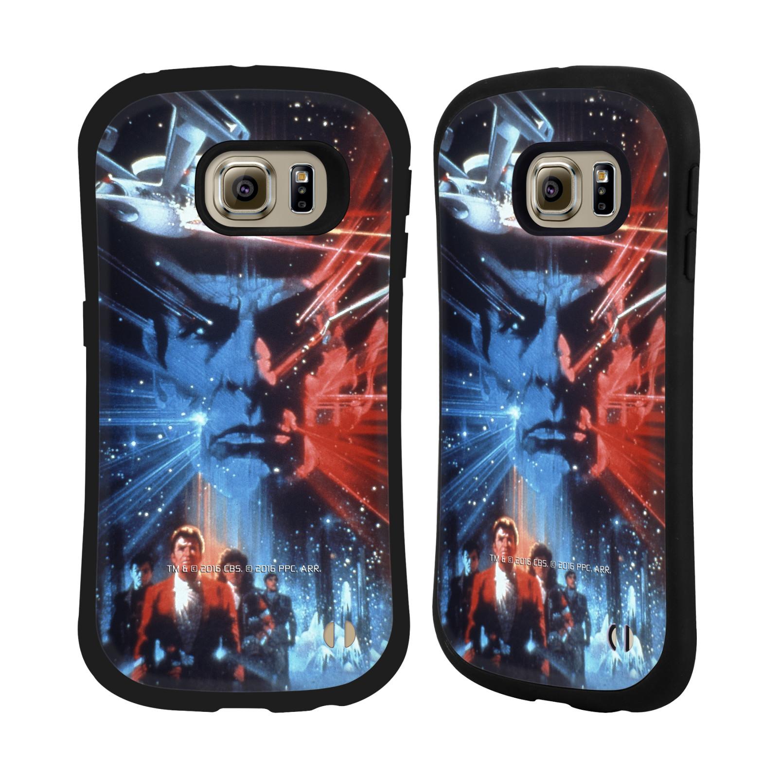 HEAD CASE silikon/plast odolný obal na mobil Samsung Galaxy S6 EDGE (G925) Star Trek Filmové plakáty Pátrání po Spockovi