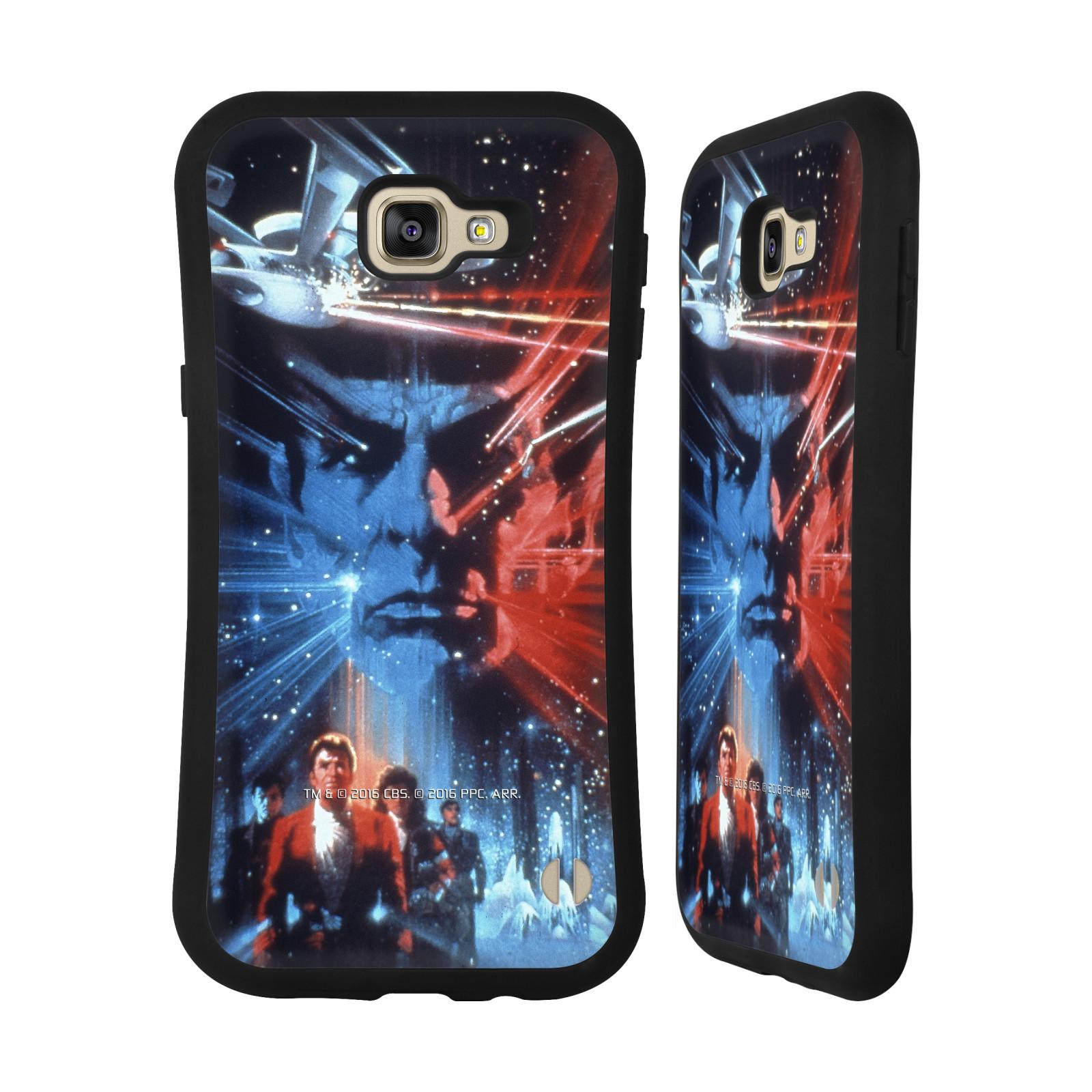 HEAD CASE silikon/plast odolný obal na mobil Samsung Galaxy A9 2016 Star Trek Filmové plakáty Pátrání po Spockovi