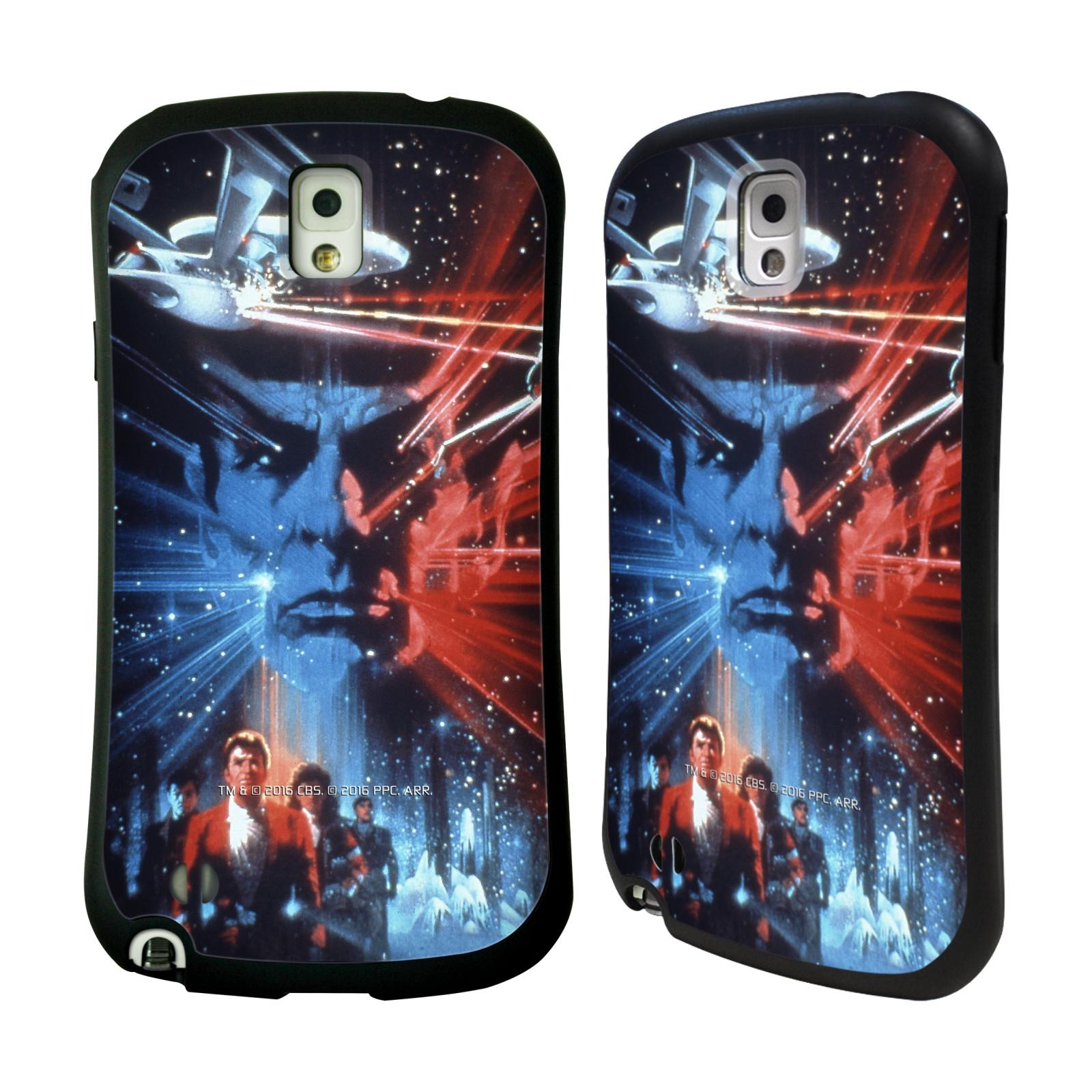 HEAD CASE silikon/plast odolný obal na mobil Samsung Galaxy NOTE 3 (N9005) Star Trek Filmové plakáty Pátrání po Spockovi