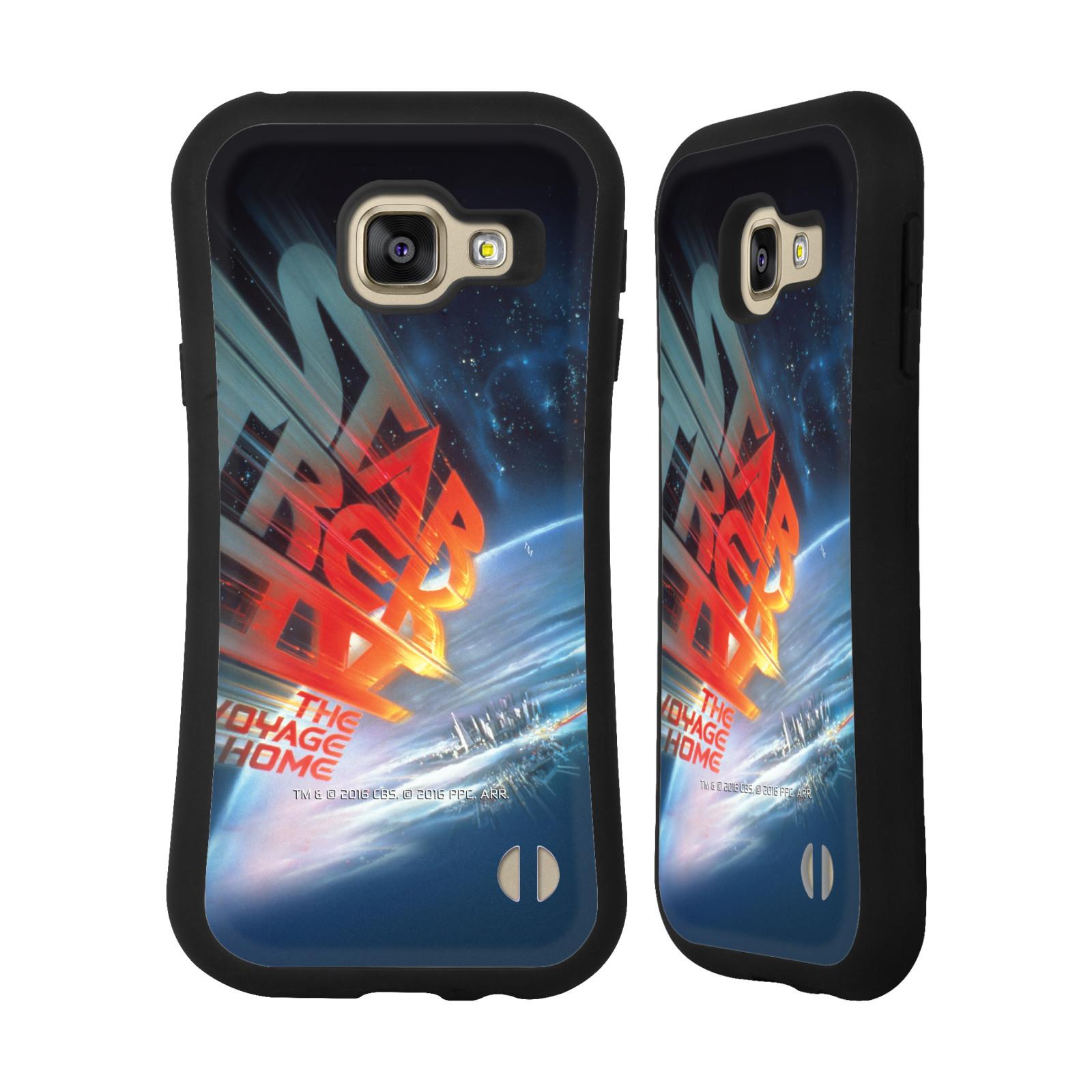 HEAD CASE silikon/plast odolný obal na mobil Samsung Galaxy A3 2016 (A310F) Star Trek Filmové plakáty Cesta domů